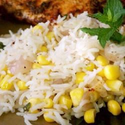 Corn and Rice Medley mommyluvs2cook