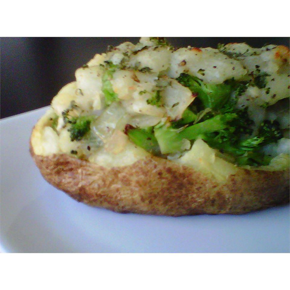Garden Stuffed Baked Potatoes