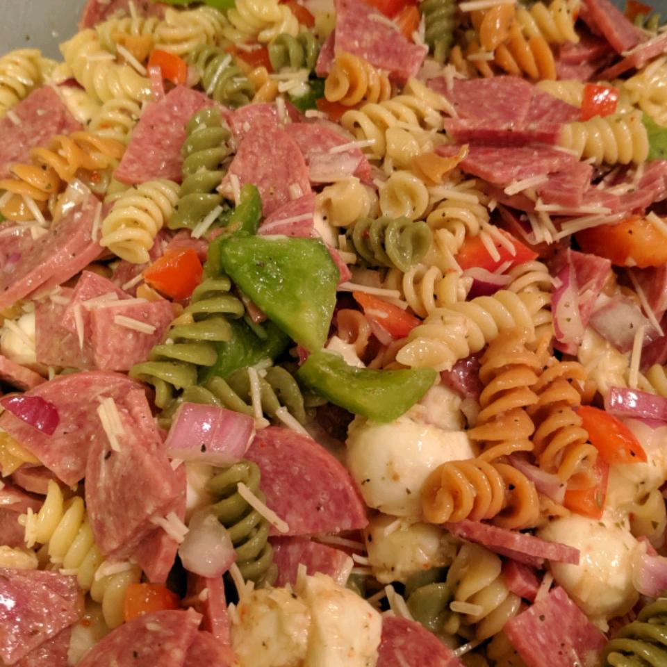 Quick Italian Pasta Salad Kyle Warner