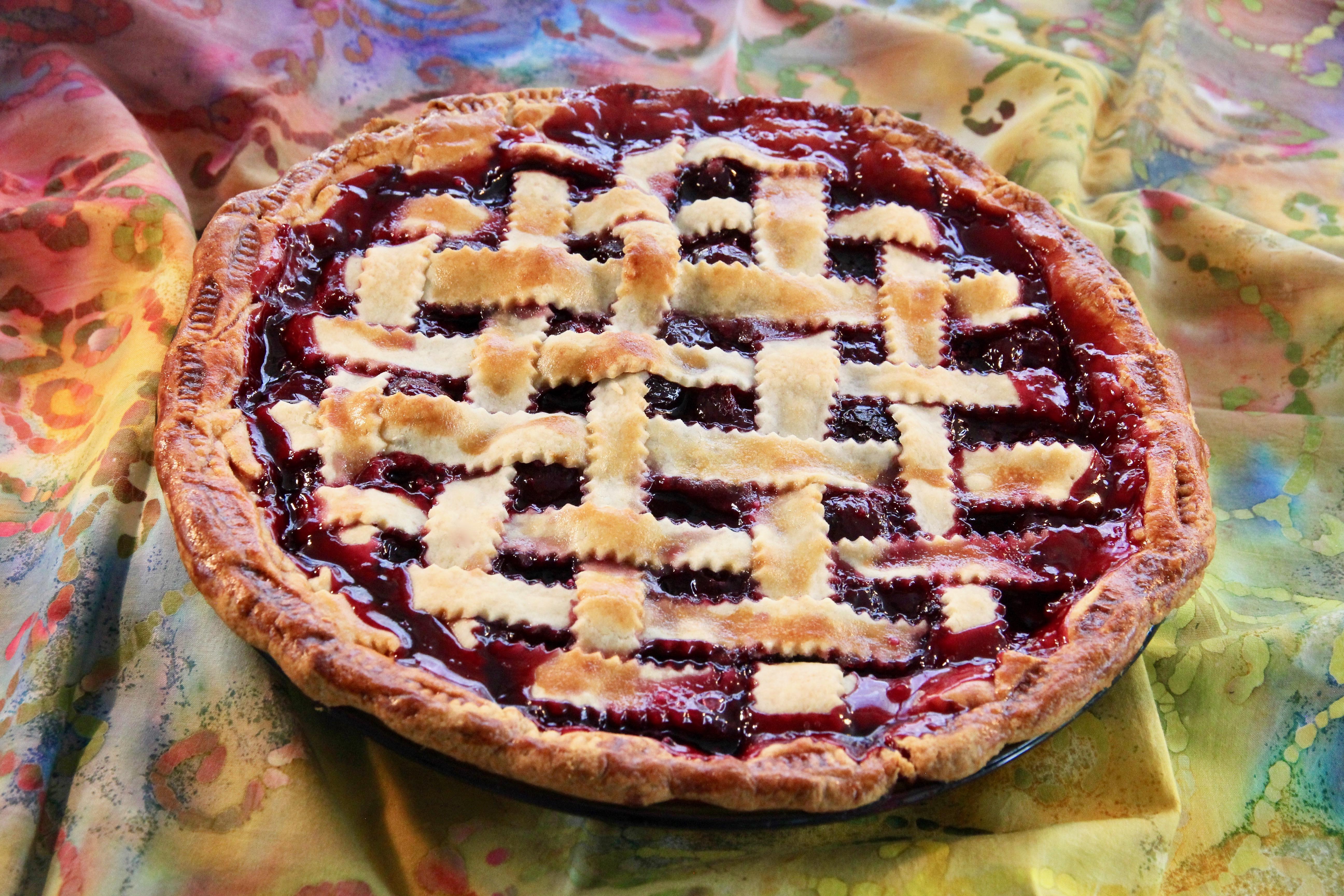 Fresh Cherry Pie image