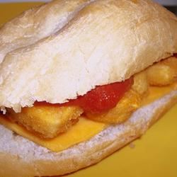 Easy Chicken Parmesan Sandwich Manda
