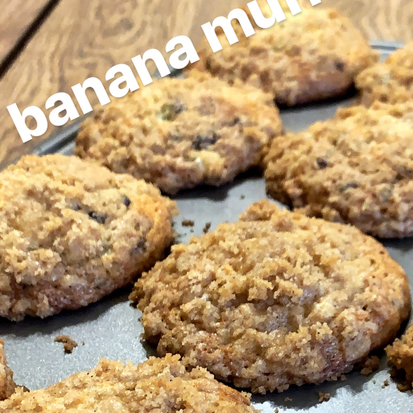 Banana Crumb Muffins Megan Medellin