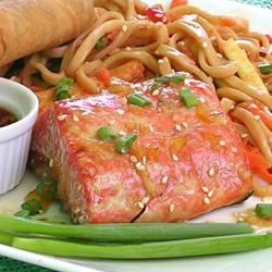 Grilled Salmon With Orange Glaze Ben S.