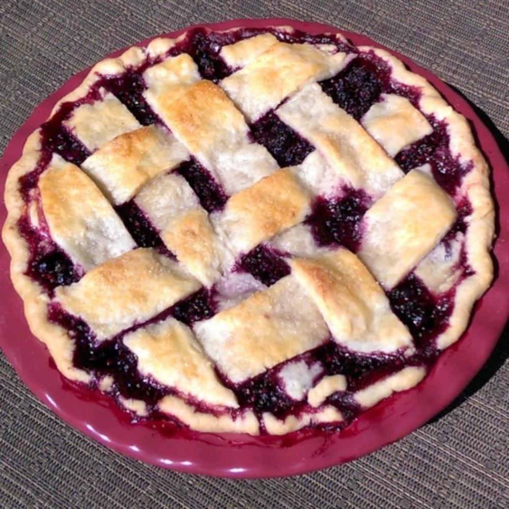 Jewel's Black Raspberry Pie