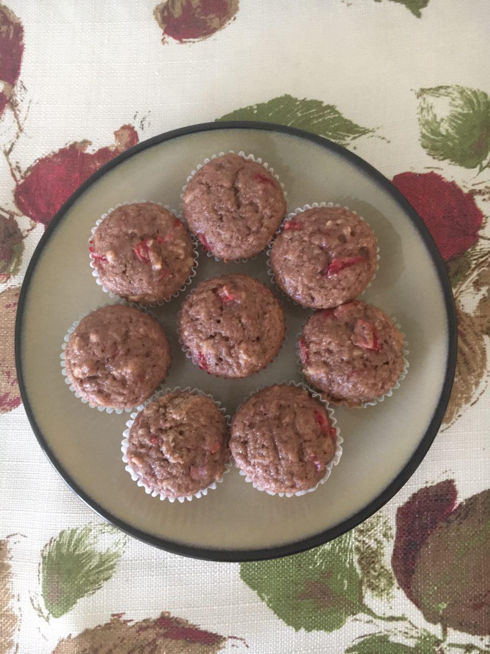 Nat's Vegan Strawberry Muffins