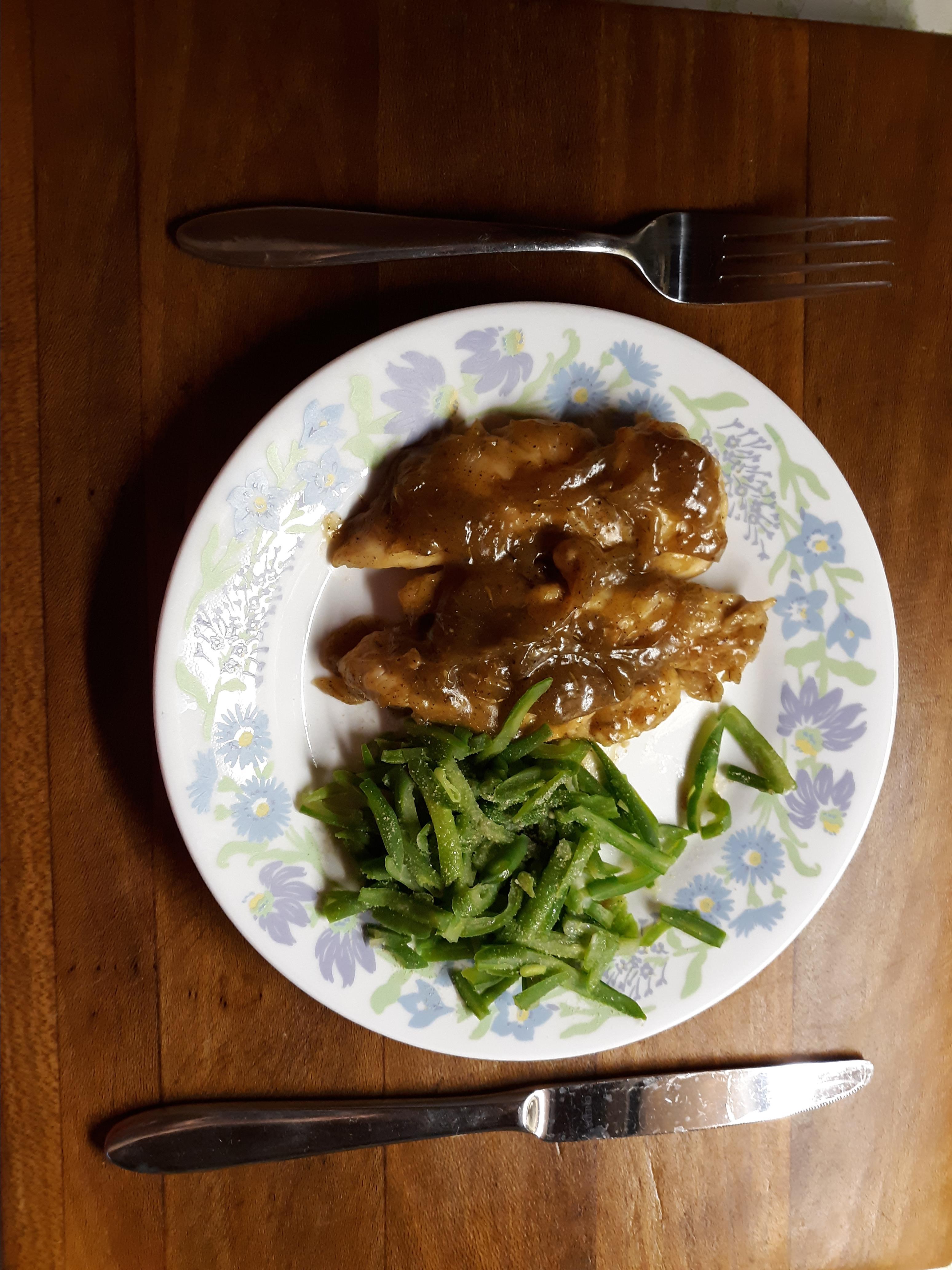 Chicken with Maple Mustard Glaze digitalsignalx