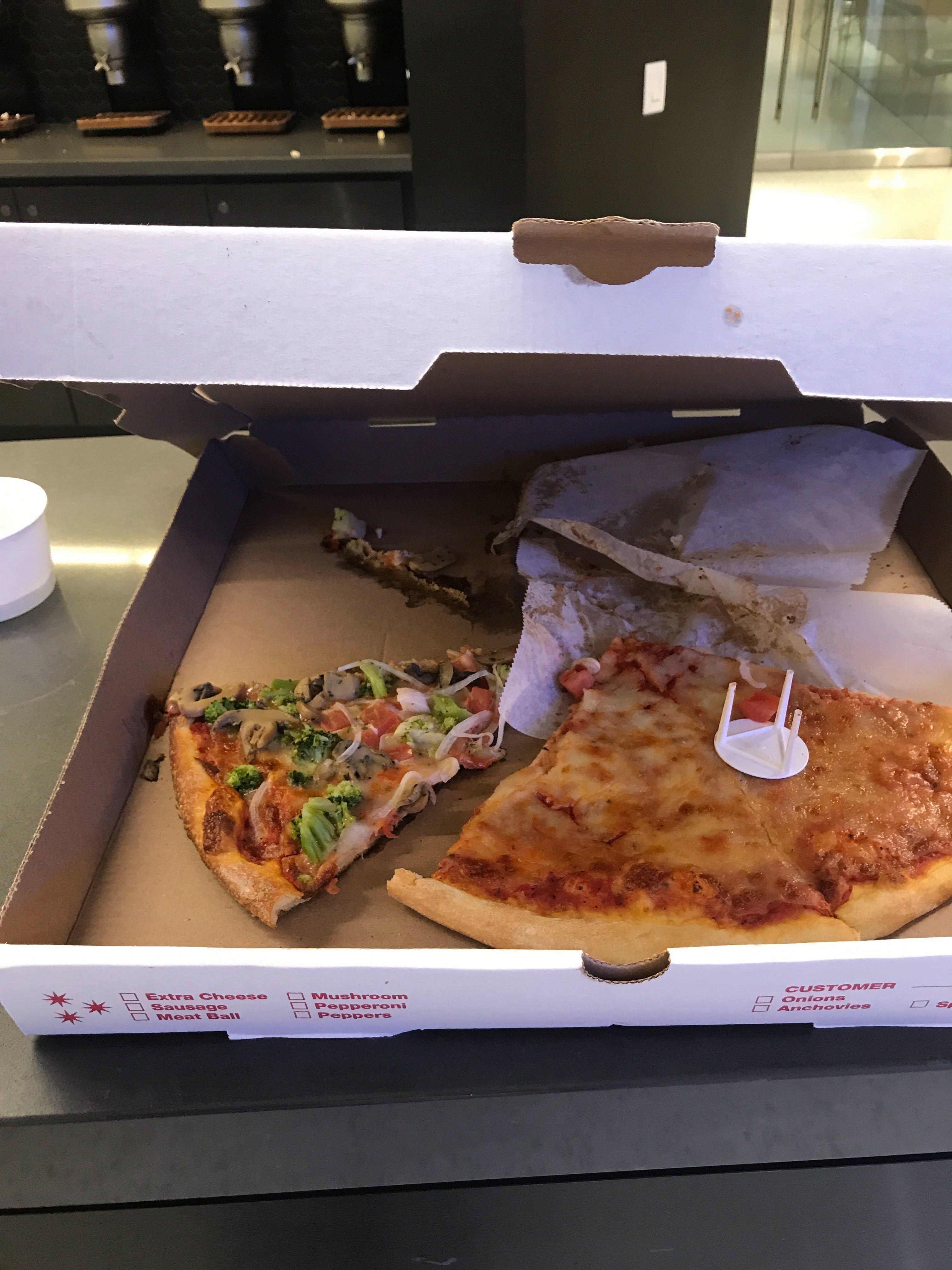 Thanksgiving Leftover Pizza DJM