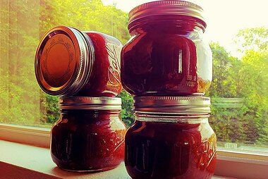 easy apple rhubarb jam recipe