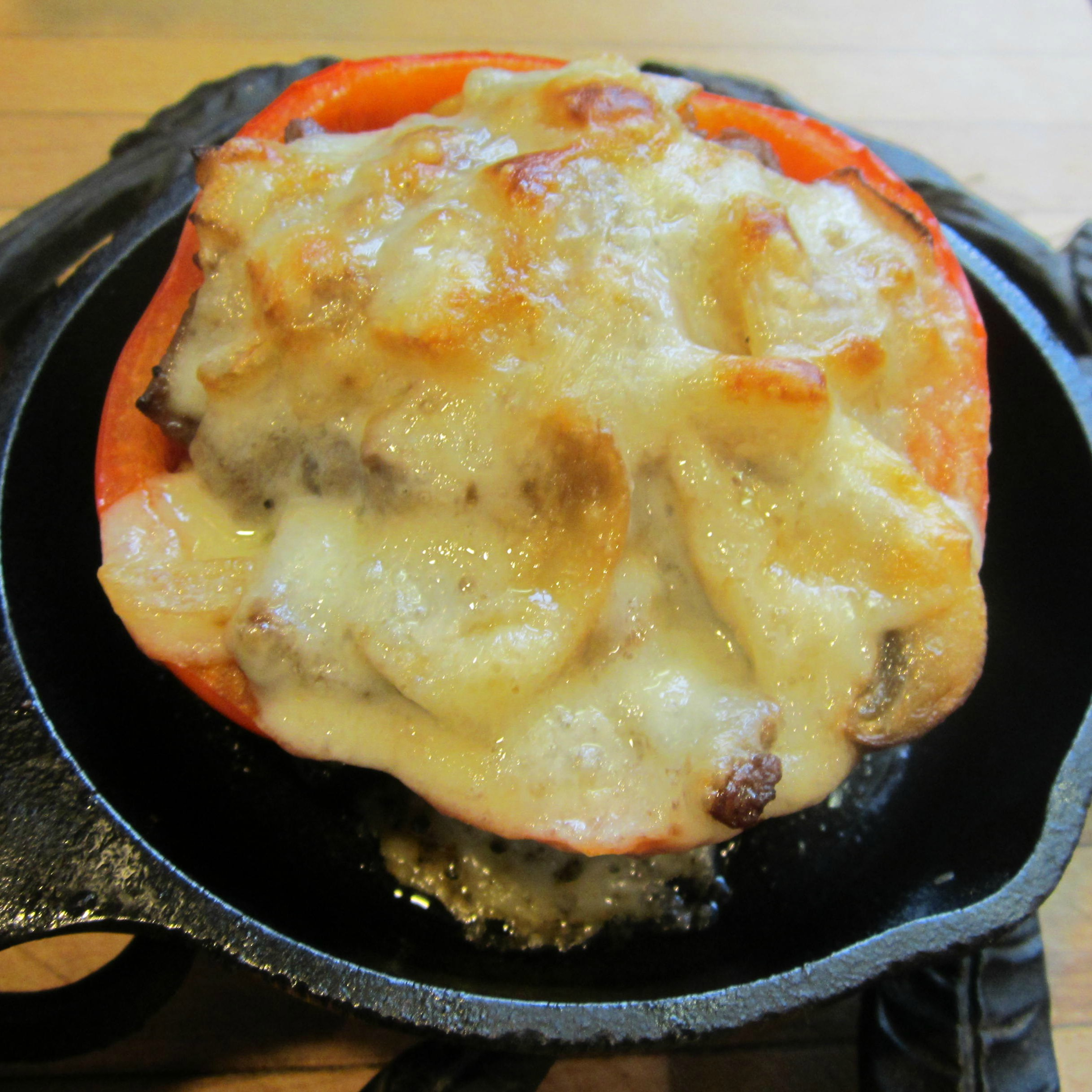Philly Cheese Steak-Stuffed Bell Peppers Deb C