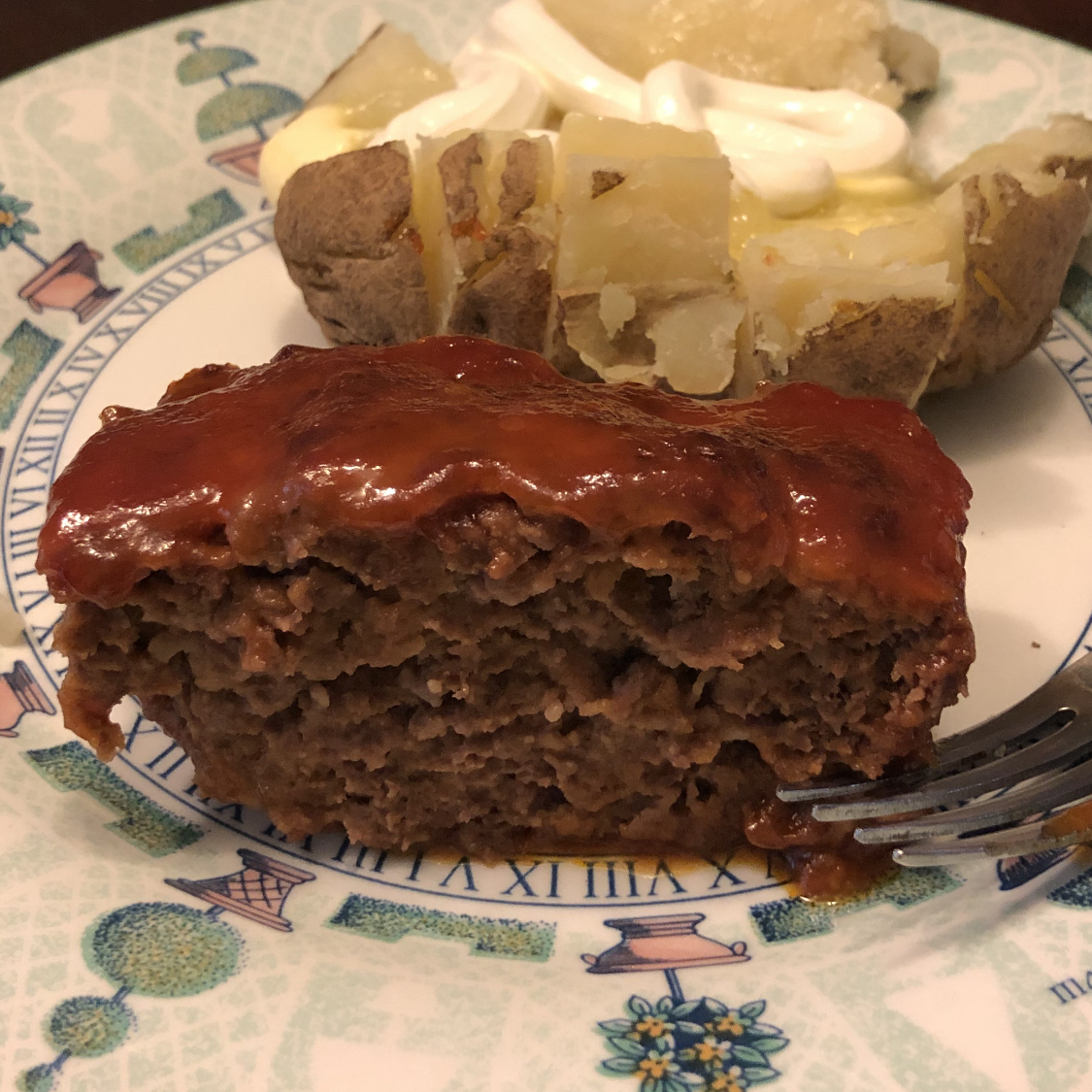 Sweet and Sour Meatloaf Kelly