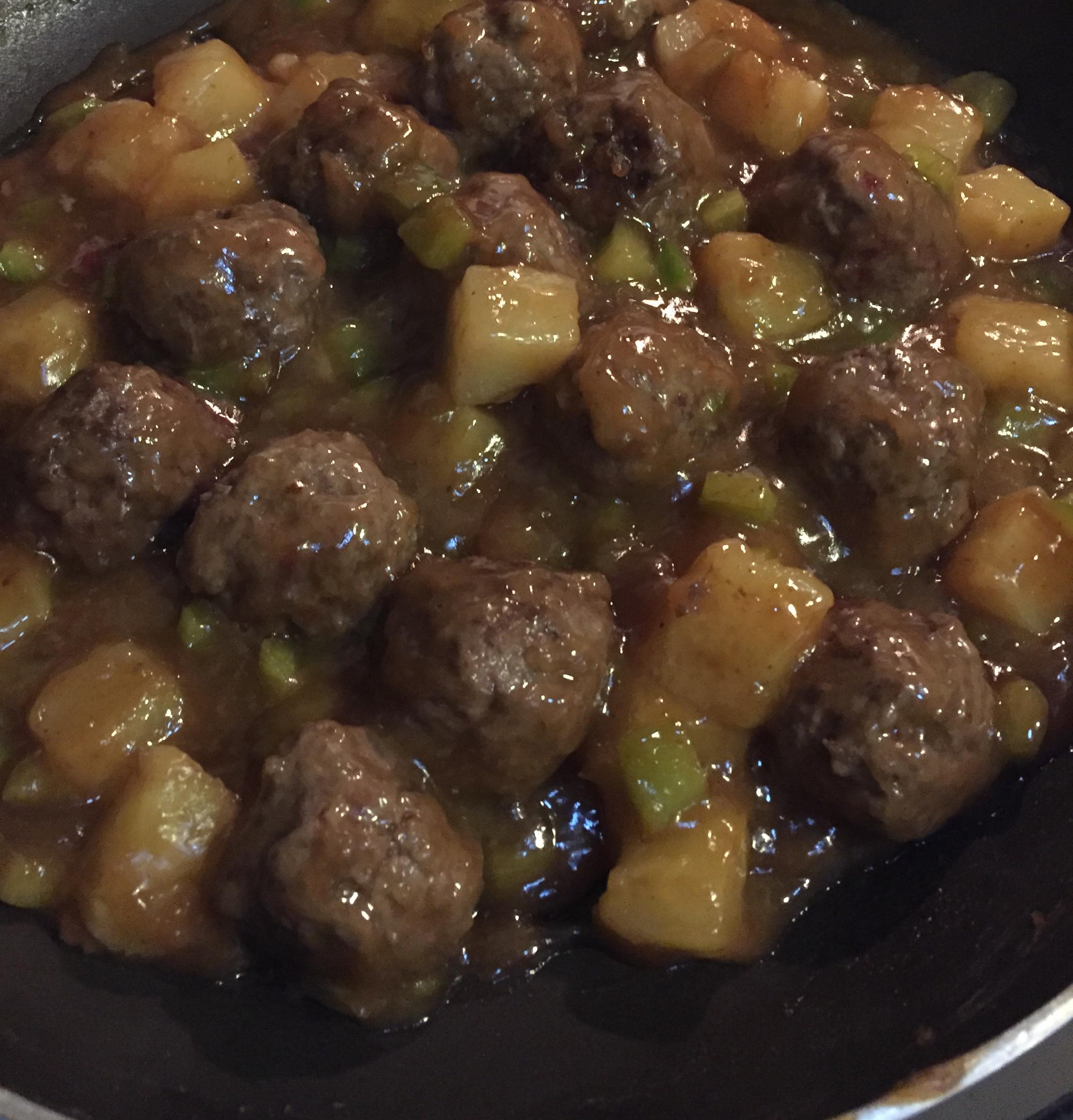 Hawaiian Meatballs Dandyd56@outlook.com