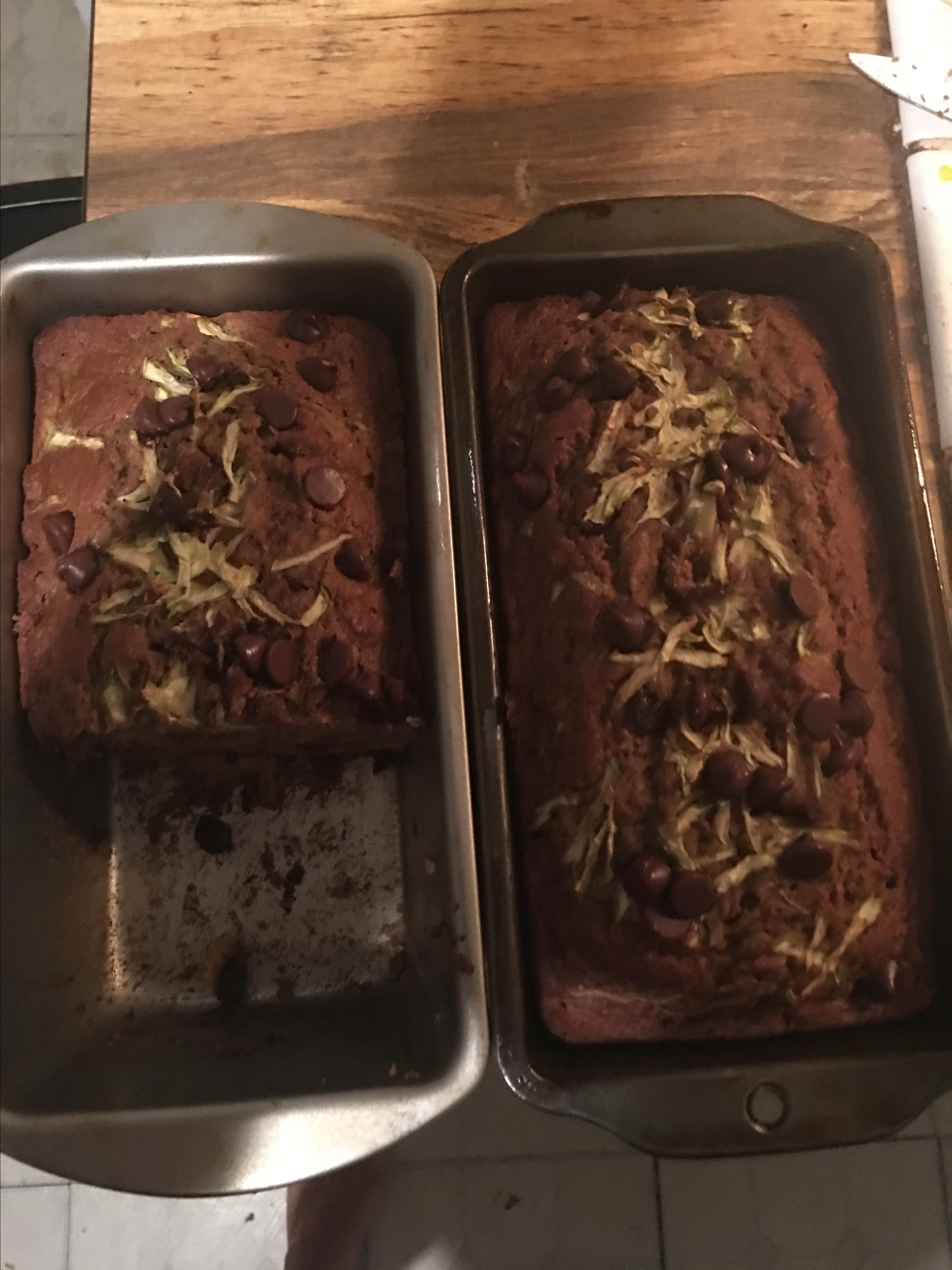Better Chocolate Chip Zucchini Bread