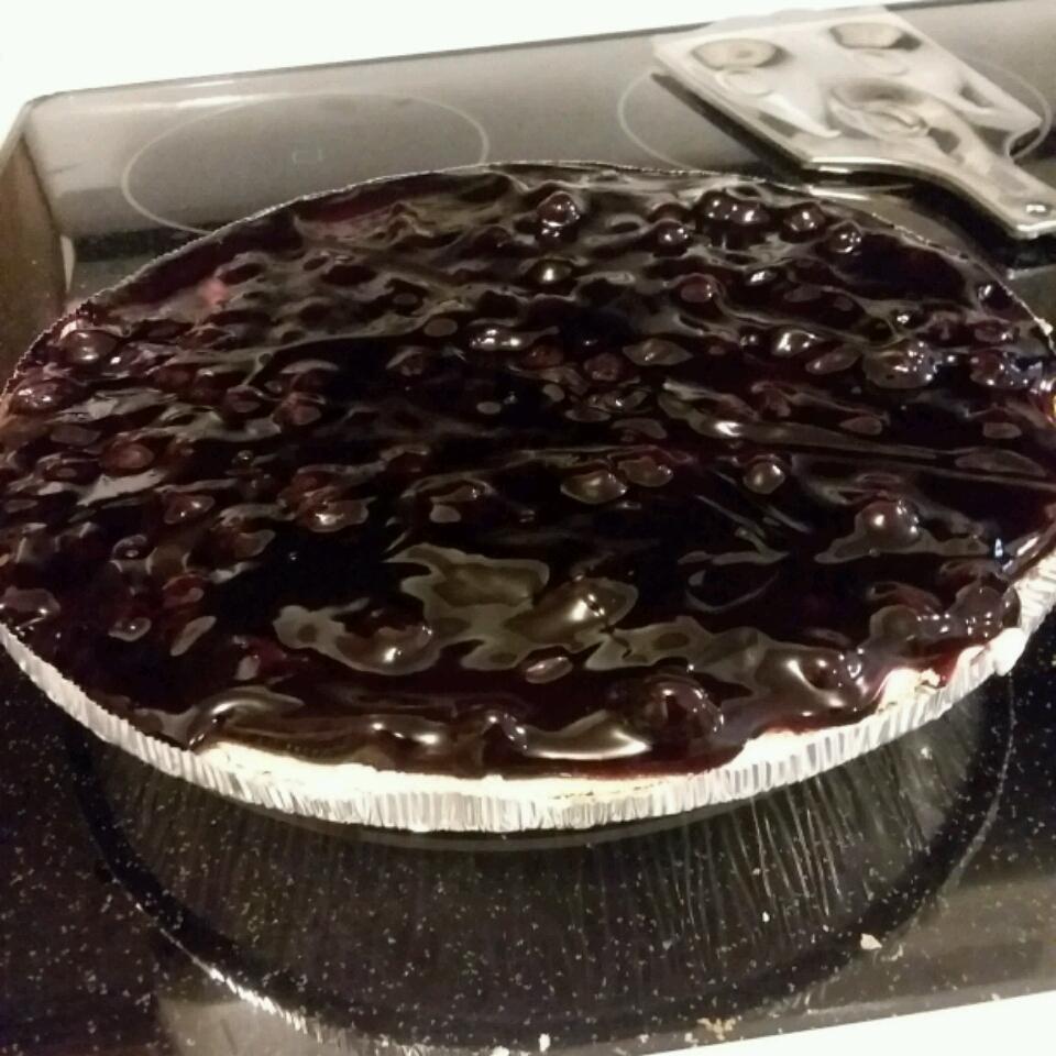 Lemony Blueberry Layered Pie