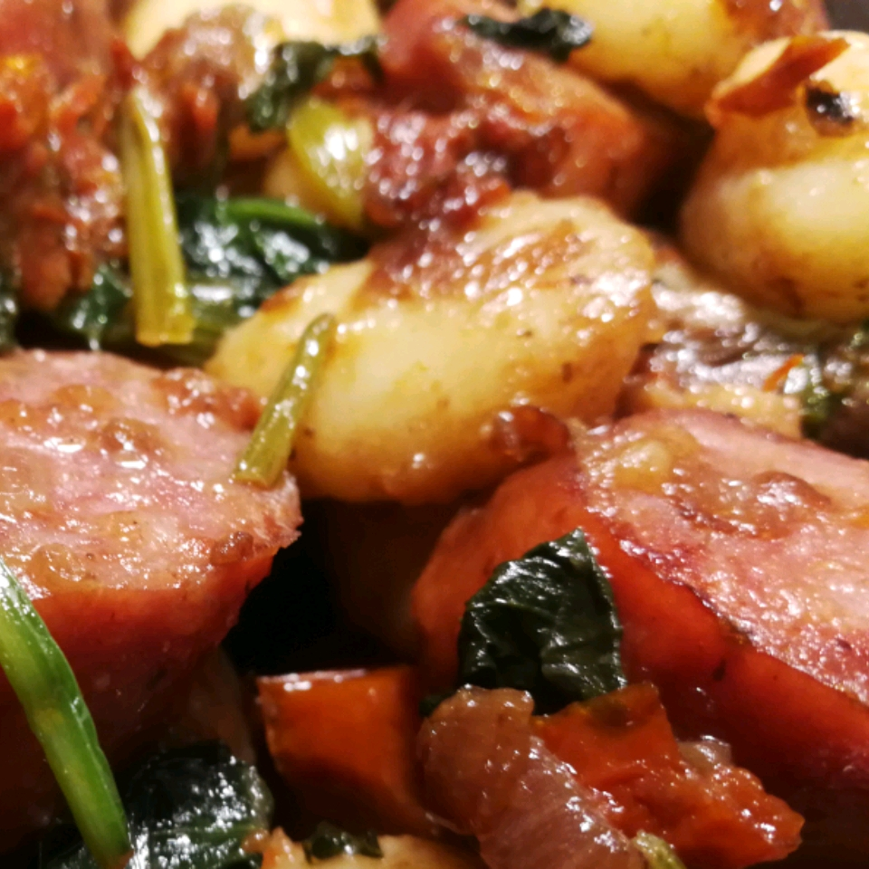 Smoked Sausage Gnocchi with Sun-Dried Tomatoes