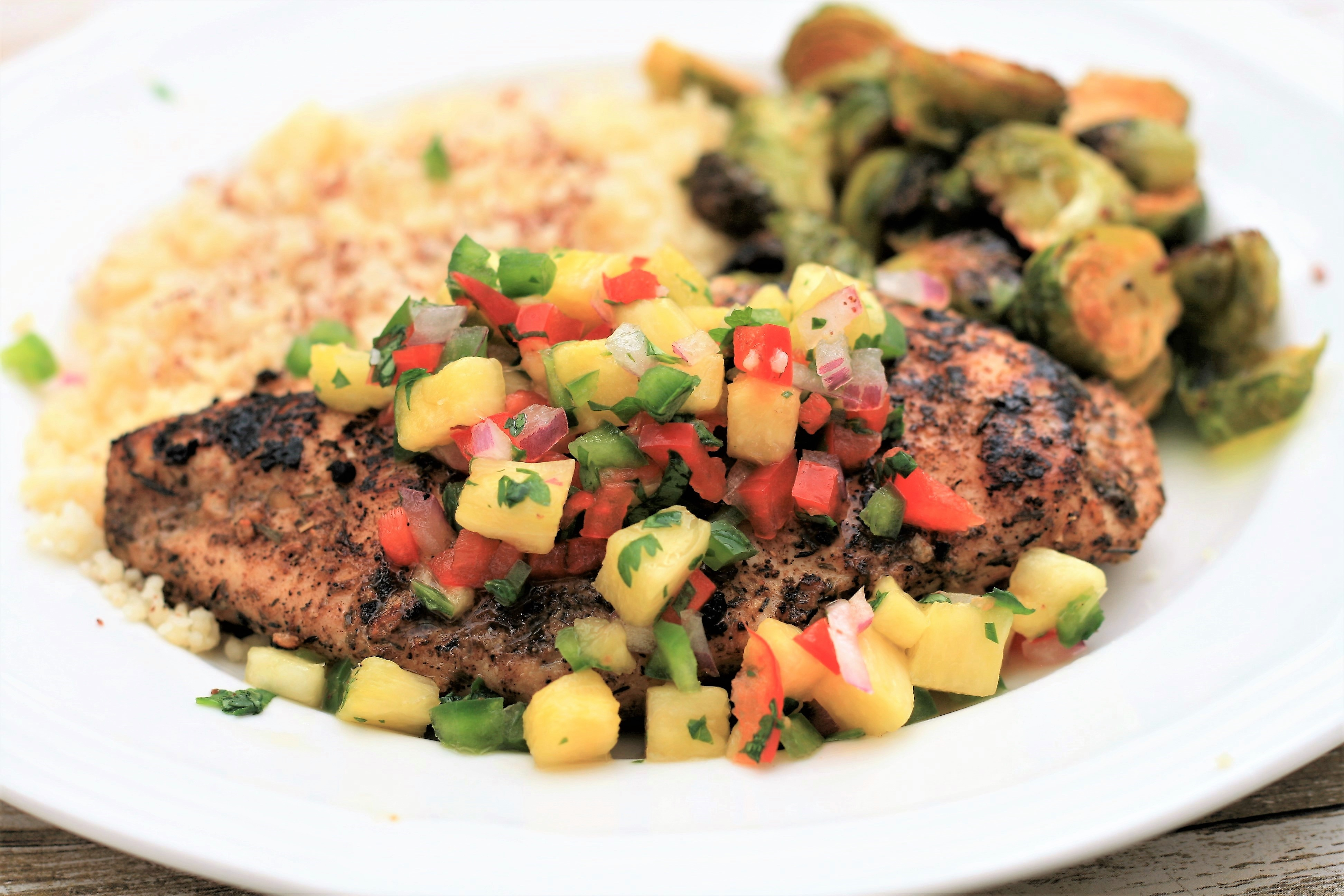 Pineapple Salsa Chicken France C