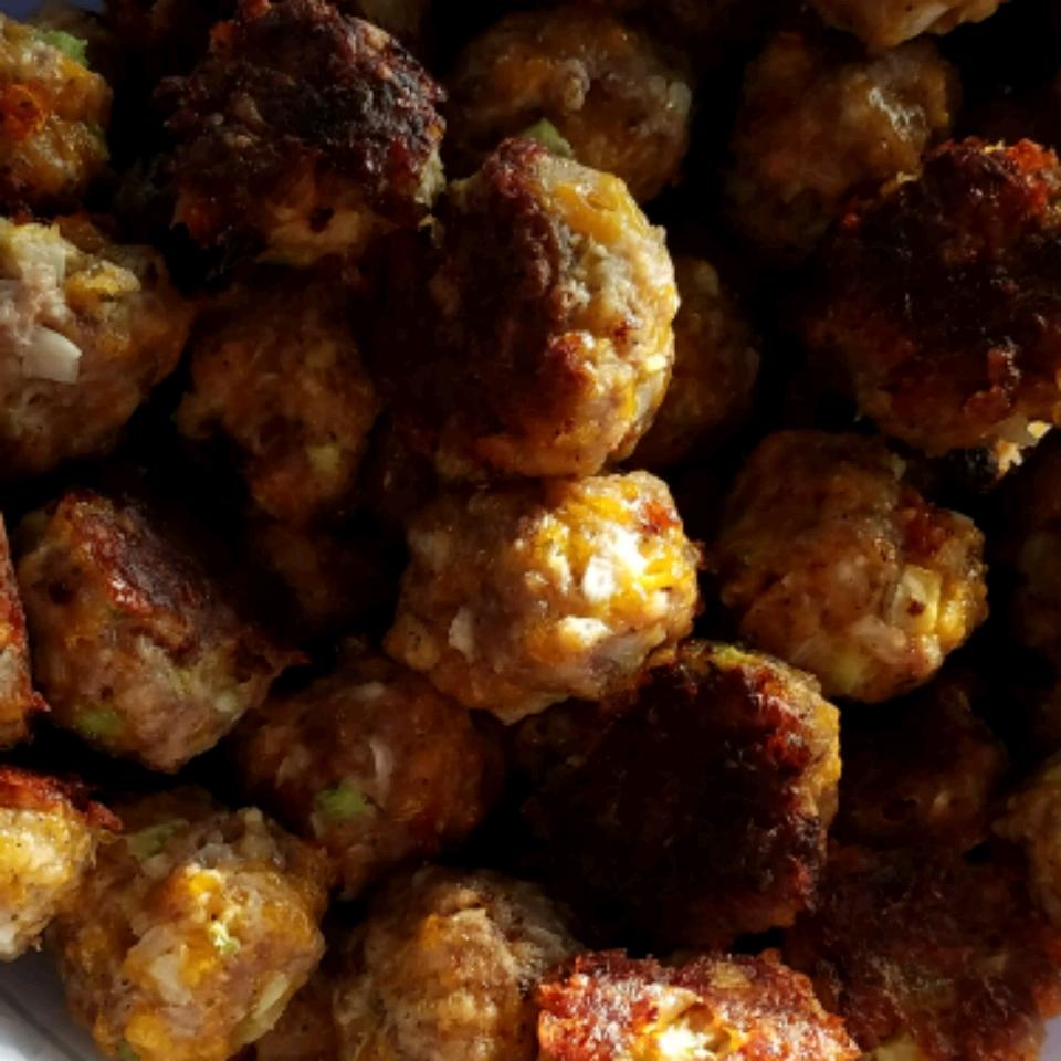 Sausage Cheese Balls Lynette Hammond