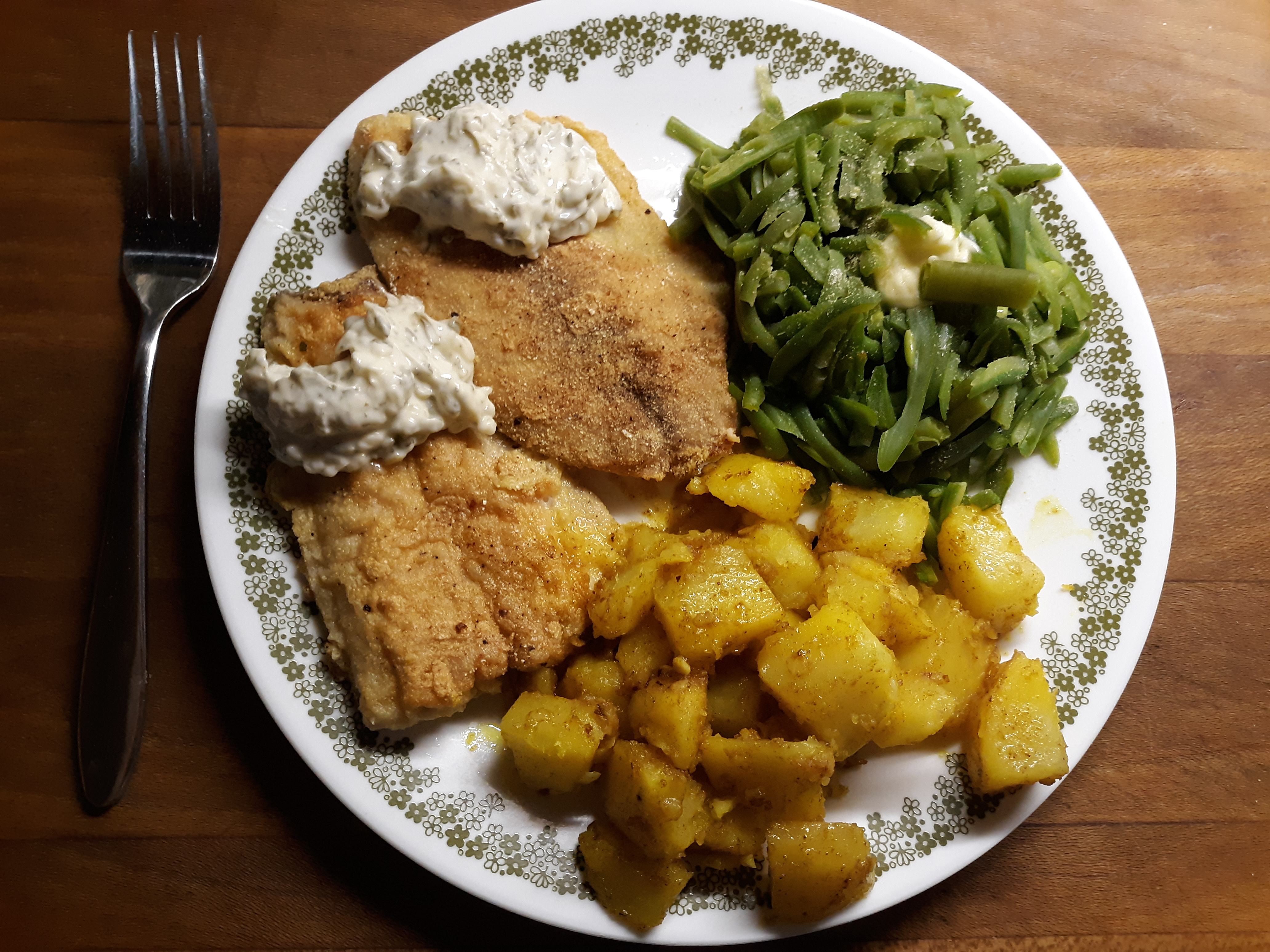 Simple New England Fried Fish