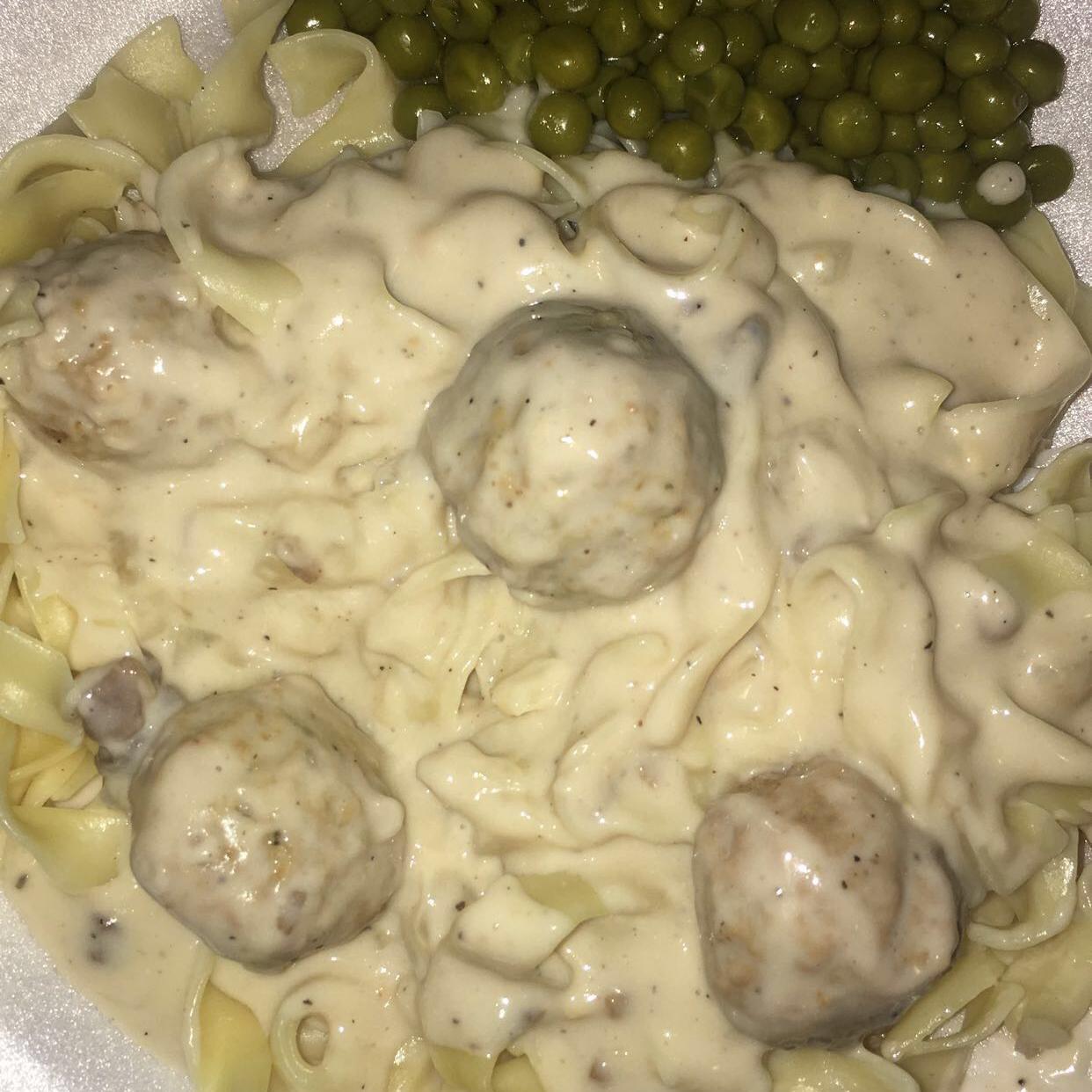 Quick Meatball Stroganoff LaCrisha Crowell