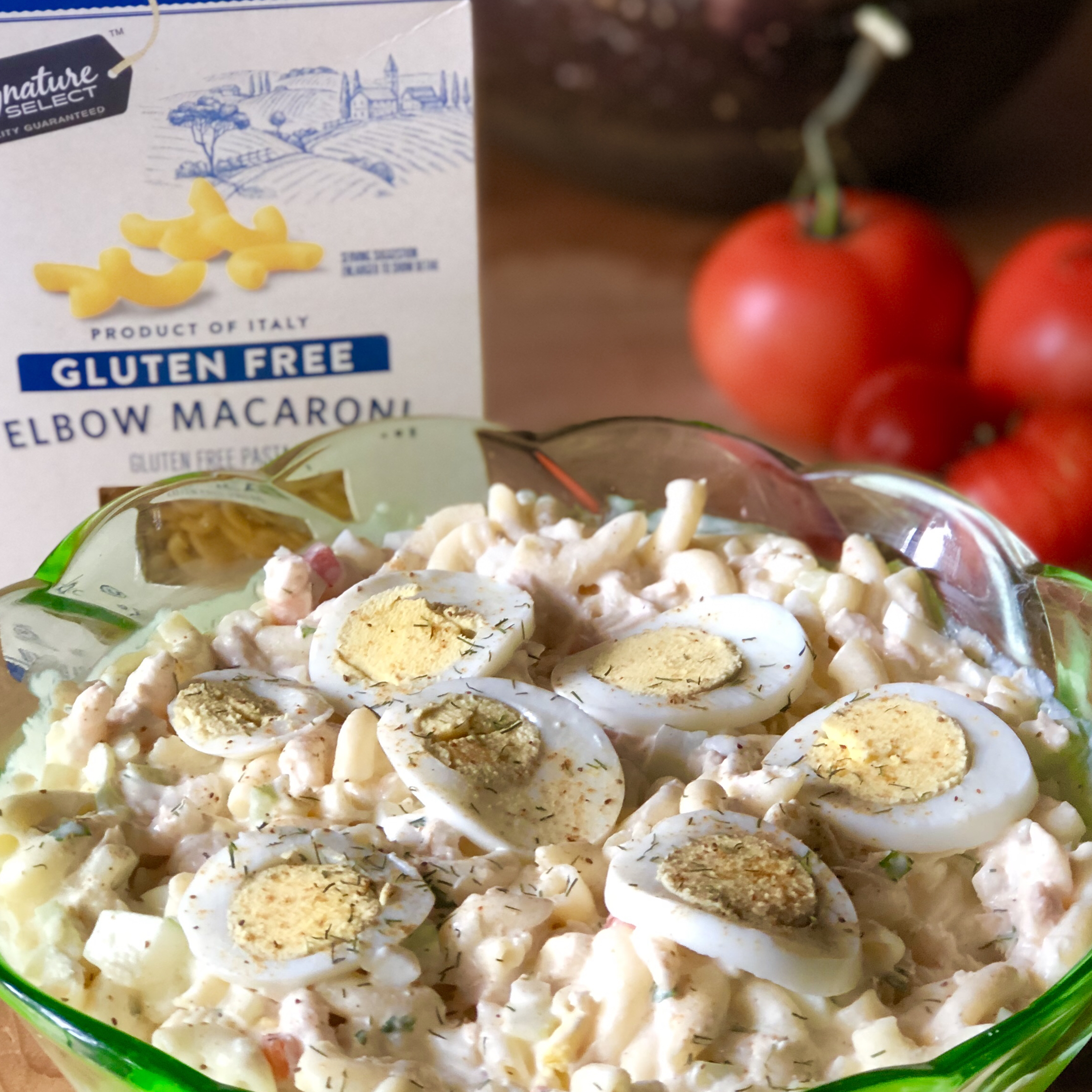My Mom's Awesome Macaroni Salad (enough to feed a crowd!) Susan Swift Willey