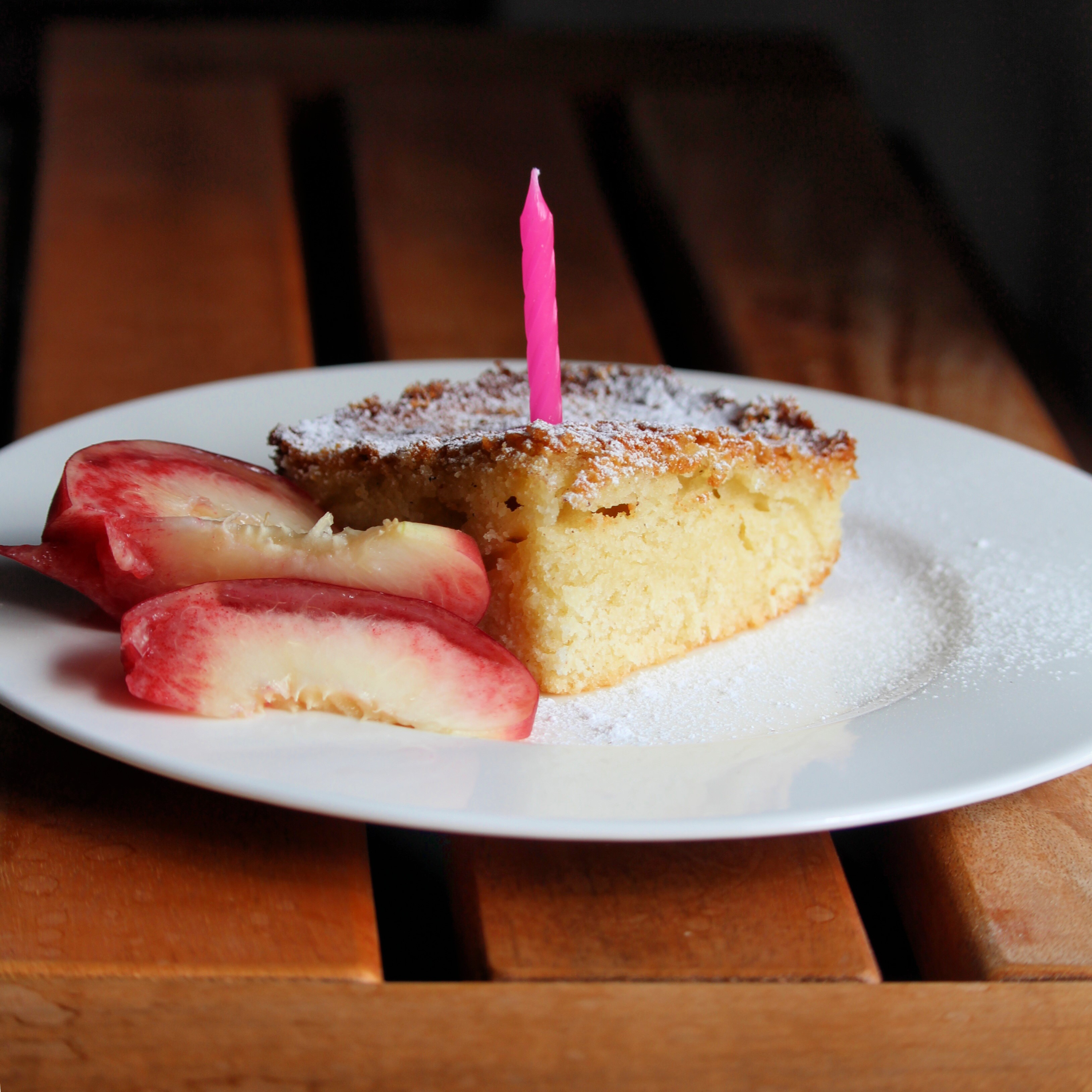 Rich, moist, and tender even baked at 6,000 or more feet, this is the ultimate vanilla-almond cake to share at high-altitudebirthday parties. Compared to traditional cakes, this one stands up to the elevation thanks to less baking powder and more eggs.