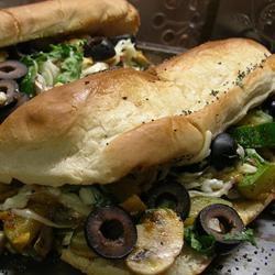 Fabulous Zucchini Grinders