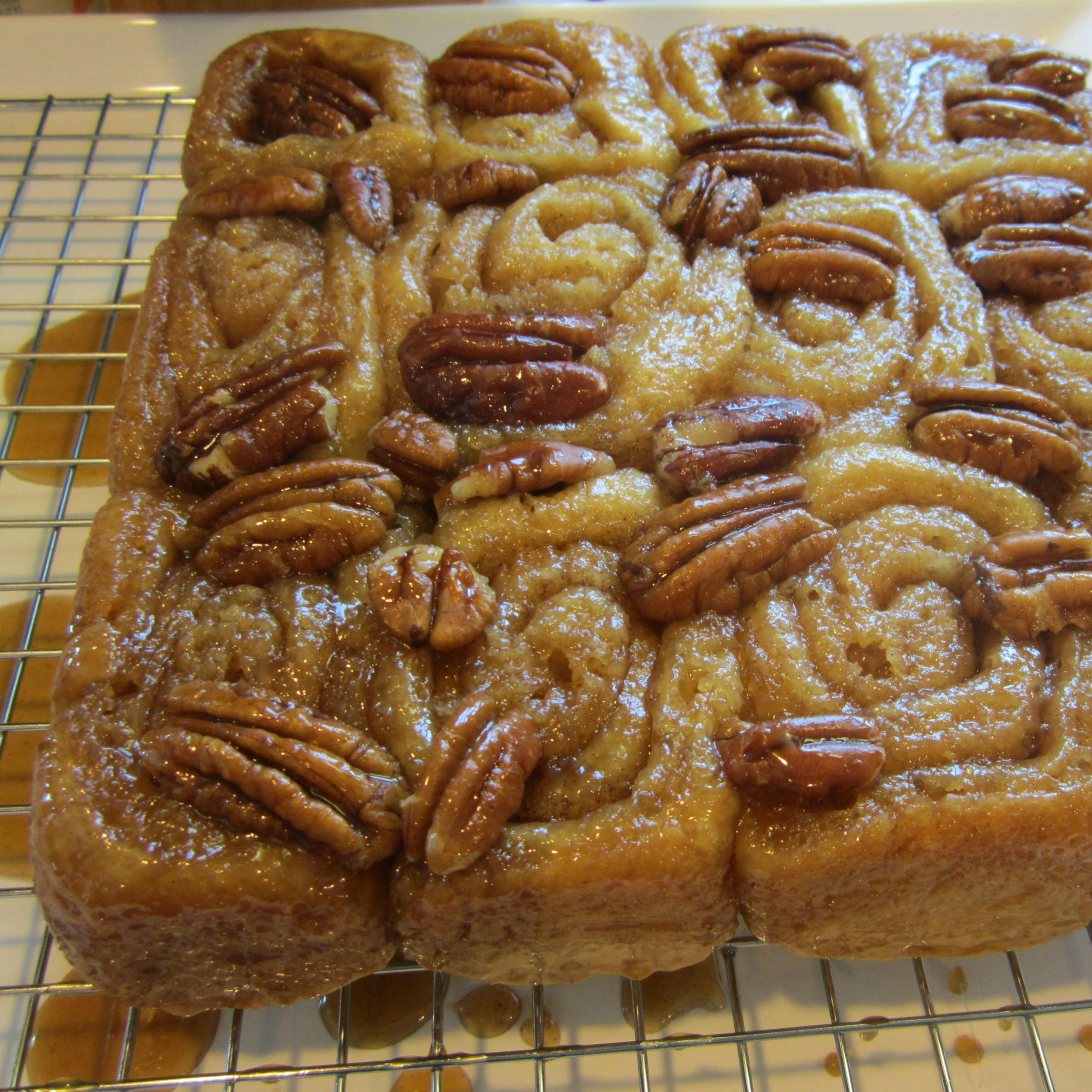 Grandmother Stougaard's Caramel Pecan Sweet Rolls