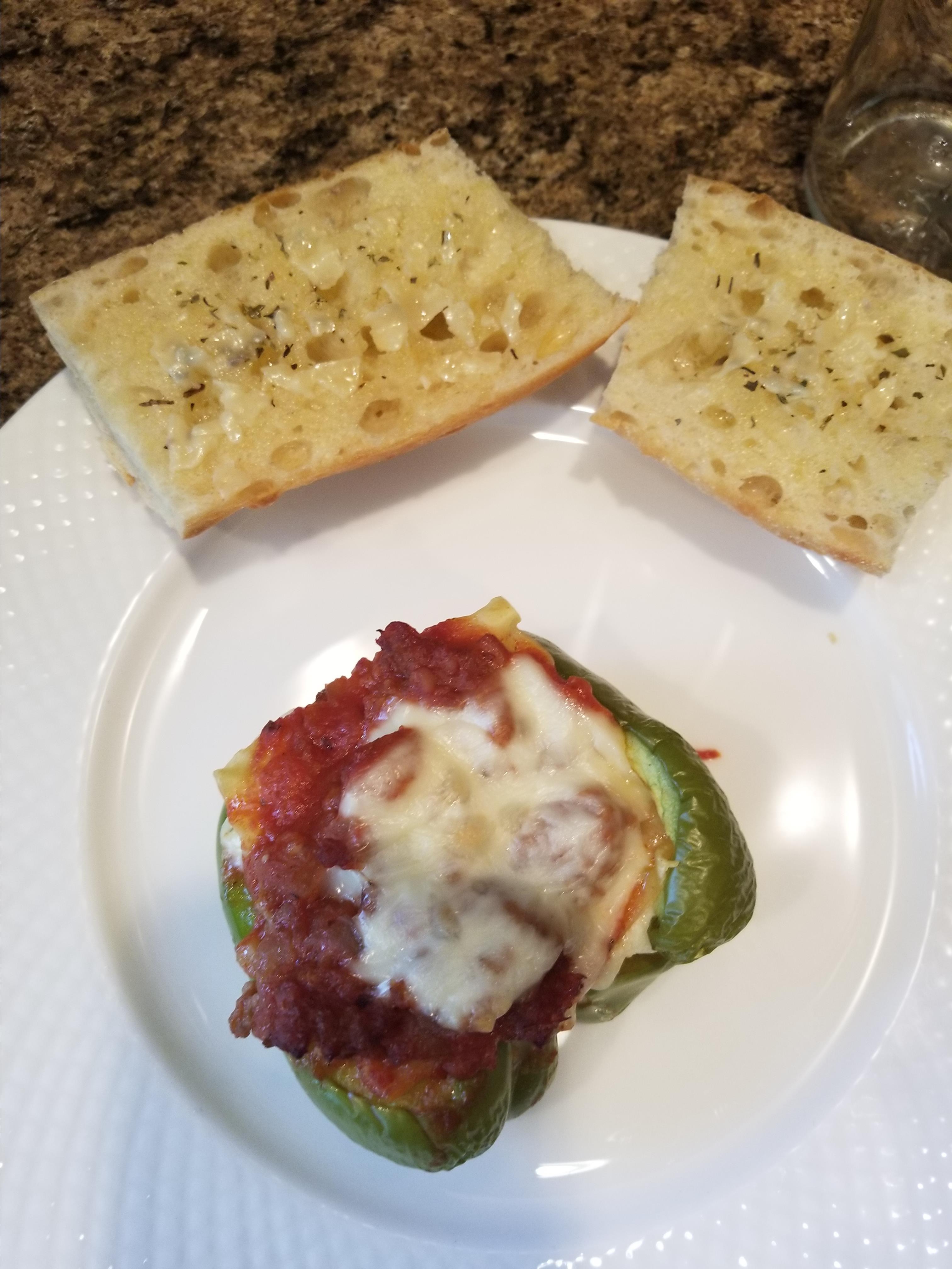 Lasagna-Stuffed Peppers Grandma Beckner