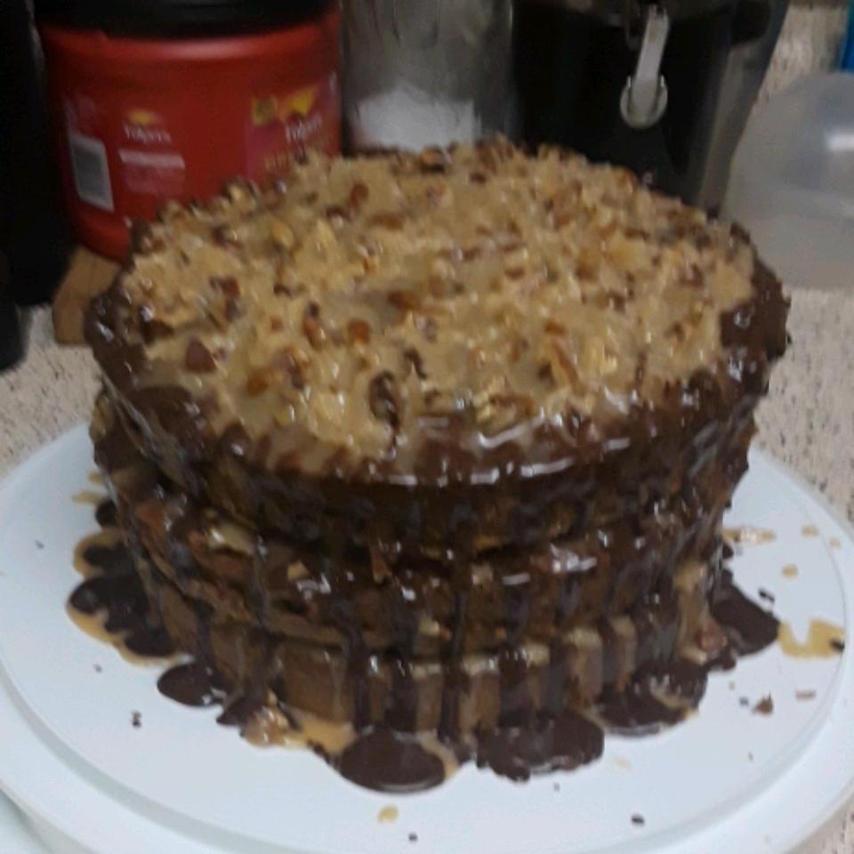 German Chocolate Cake III Txrayne