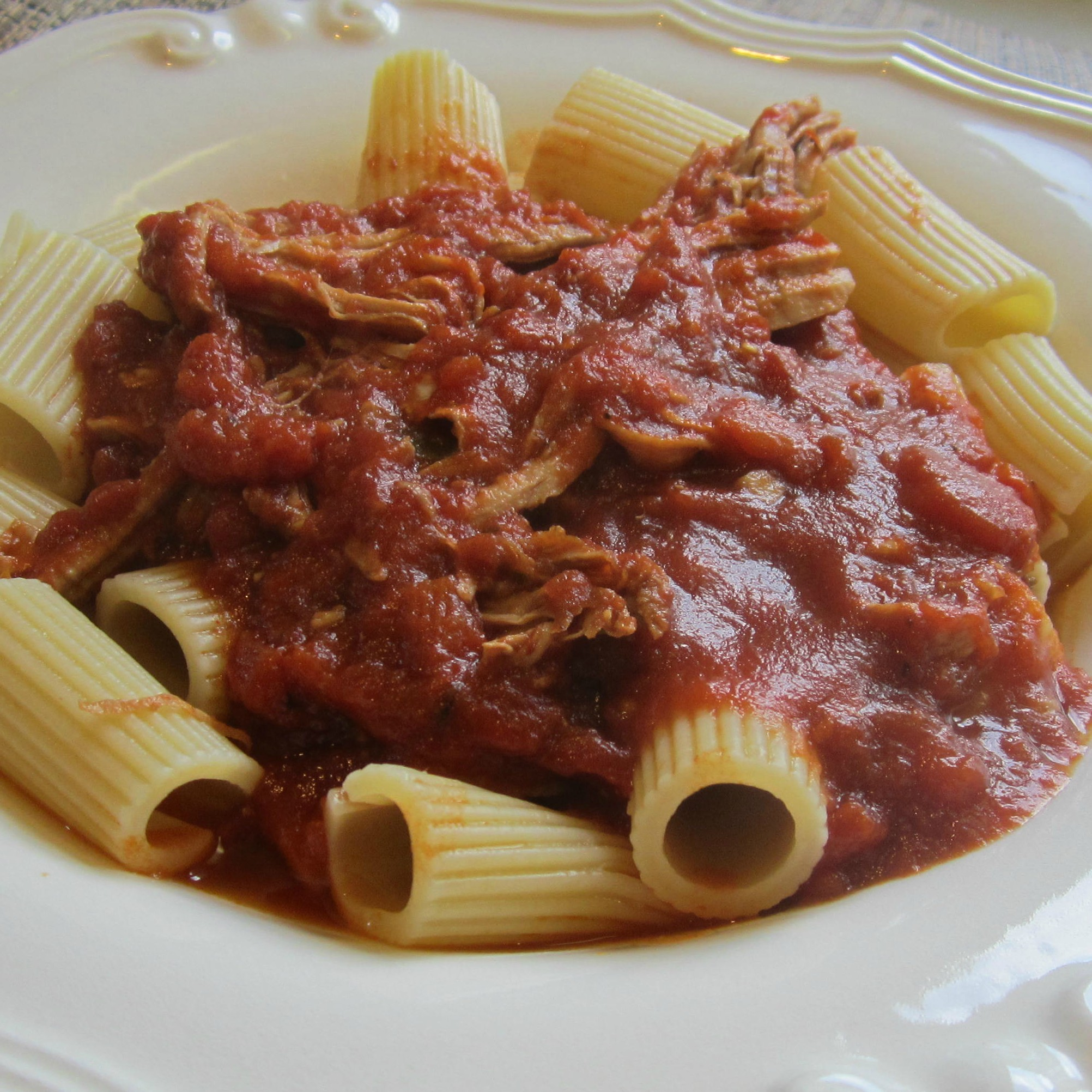 Homemade Pulled Pork Ragu in an Instant Pot®