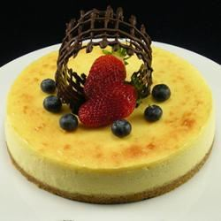White Chocolate and Passion Fruit Cheesecake Elda