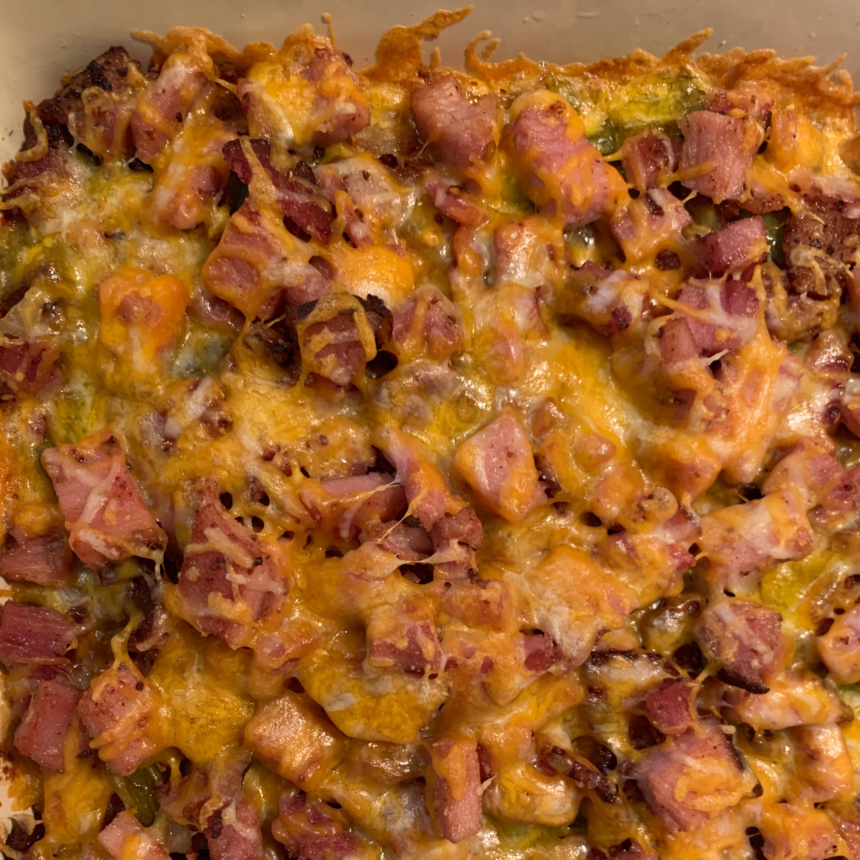 Low-Carb Deep-Dish Breakfast Pizza Todd Maxson