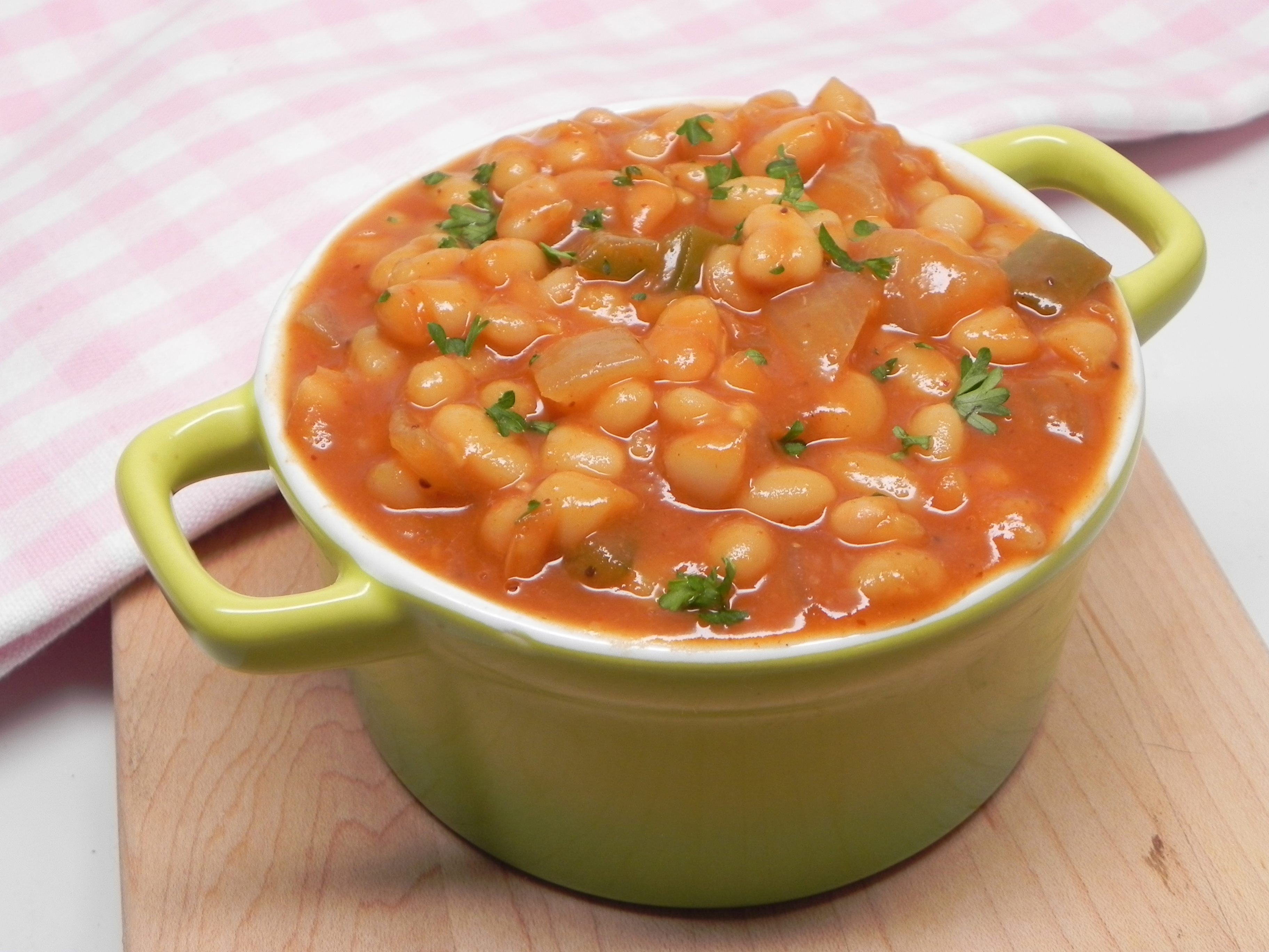Vegetarian Baked Beans with Canned Beans