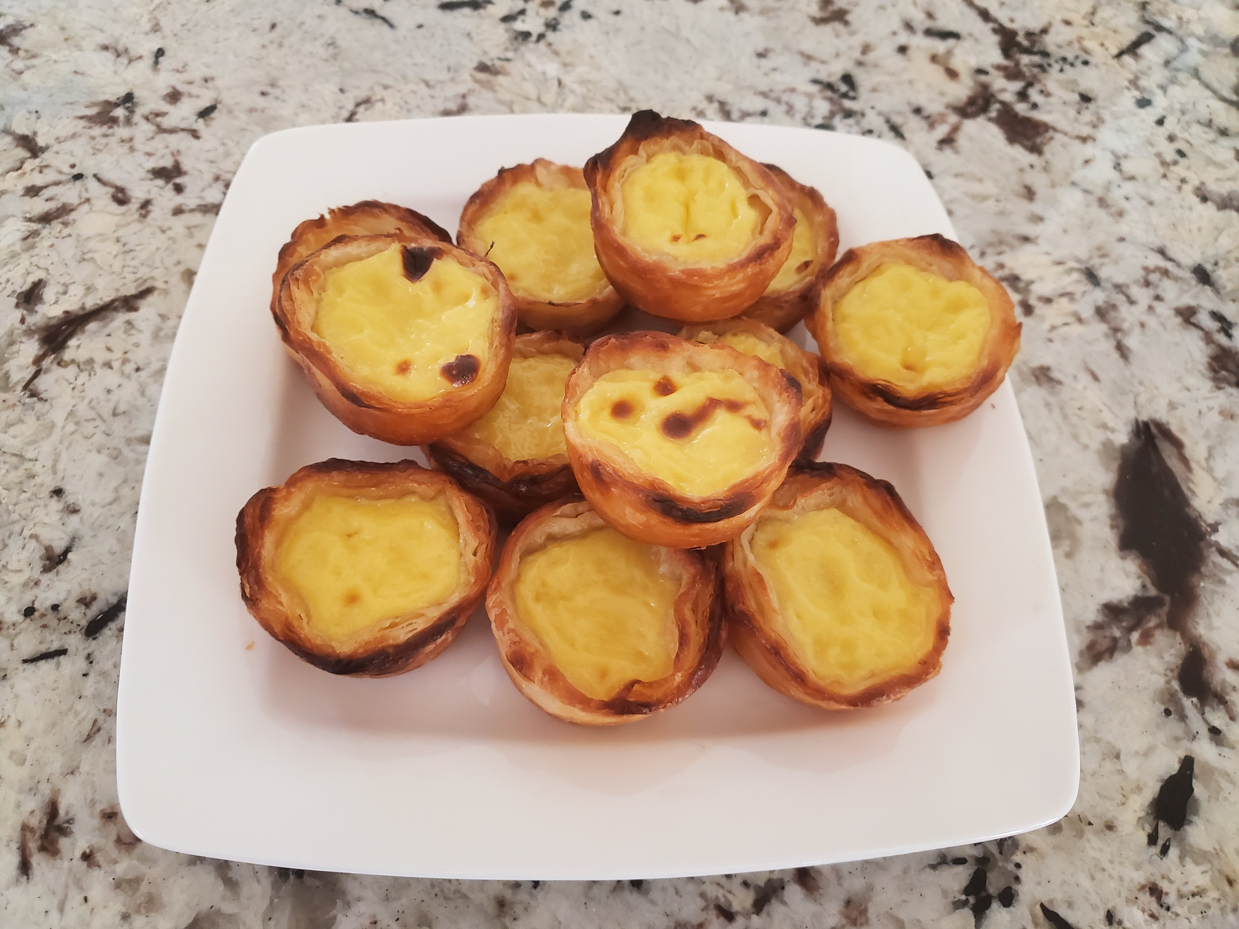 Portuguese Custard Tarts (Pasteis de Nata) Ashley Marie