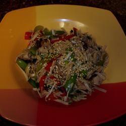 Sesame Udon Noodles skisinco