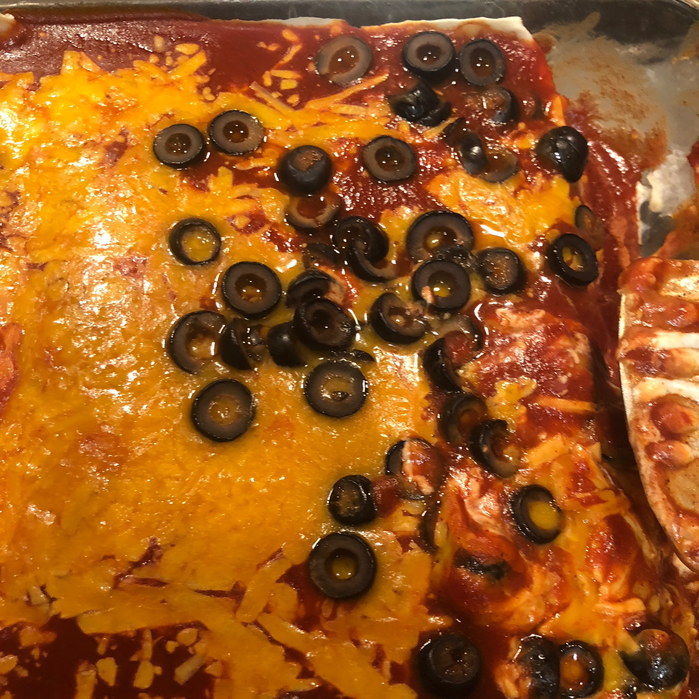 Angela's Awesome Enchiladas Justine Tadena