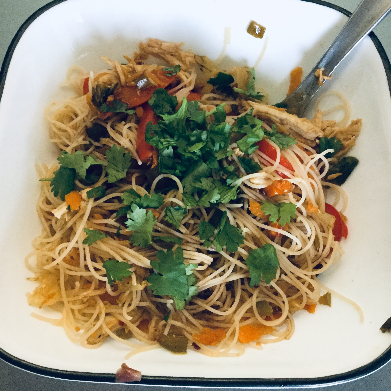 Spicy Chicken Noodles Harmony Wheeler