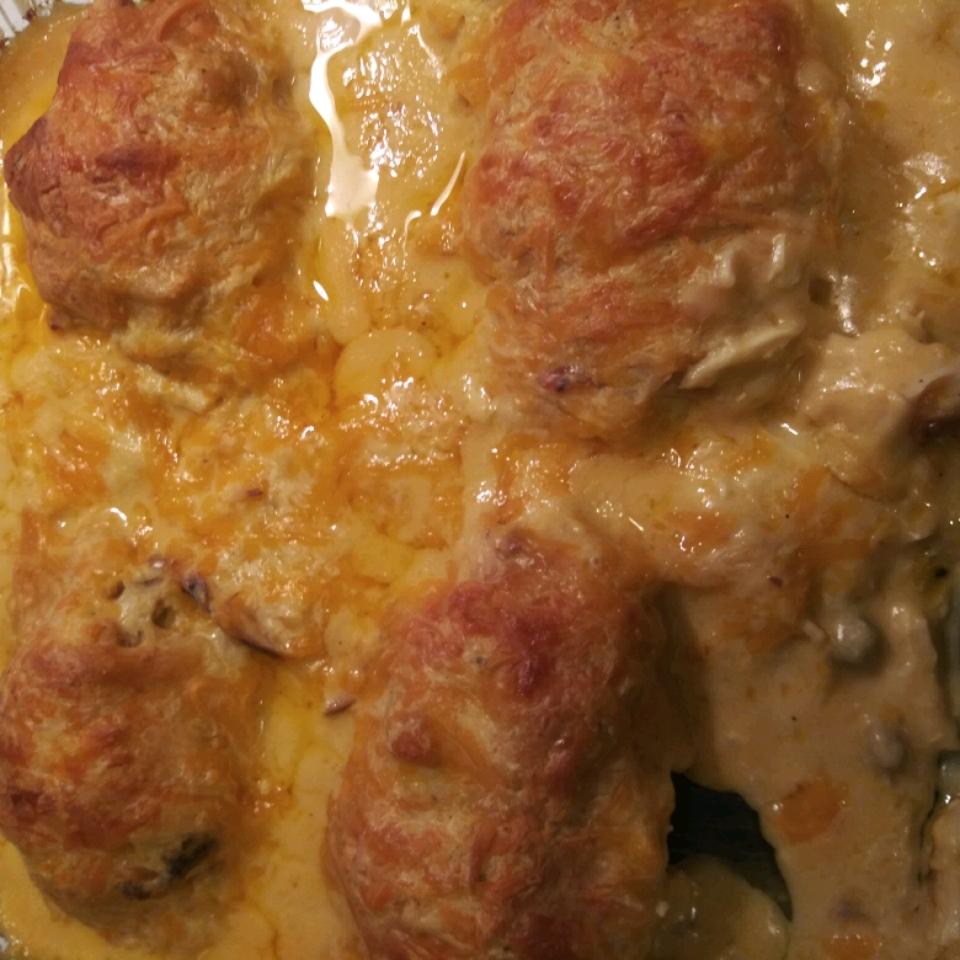 Chicken Crescent Casserole