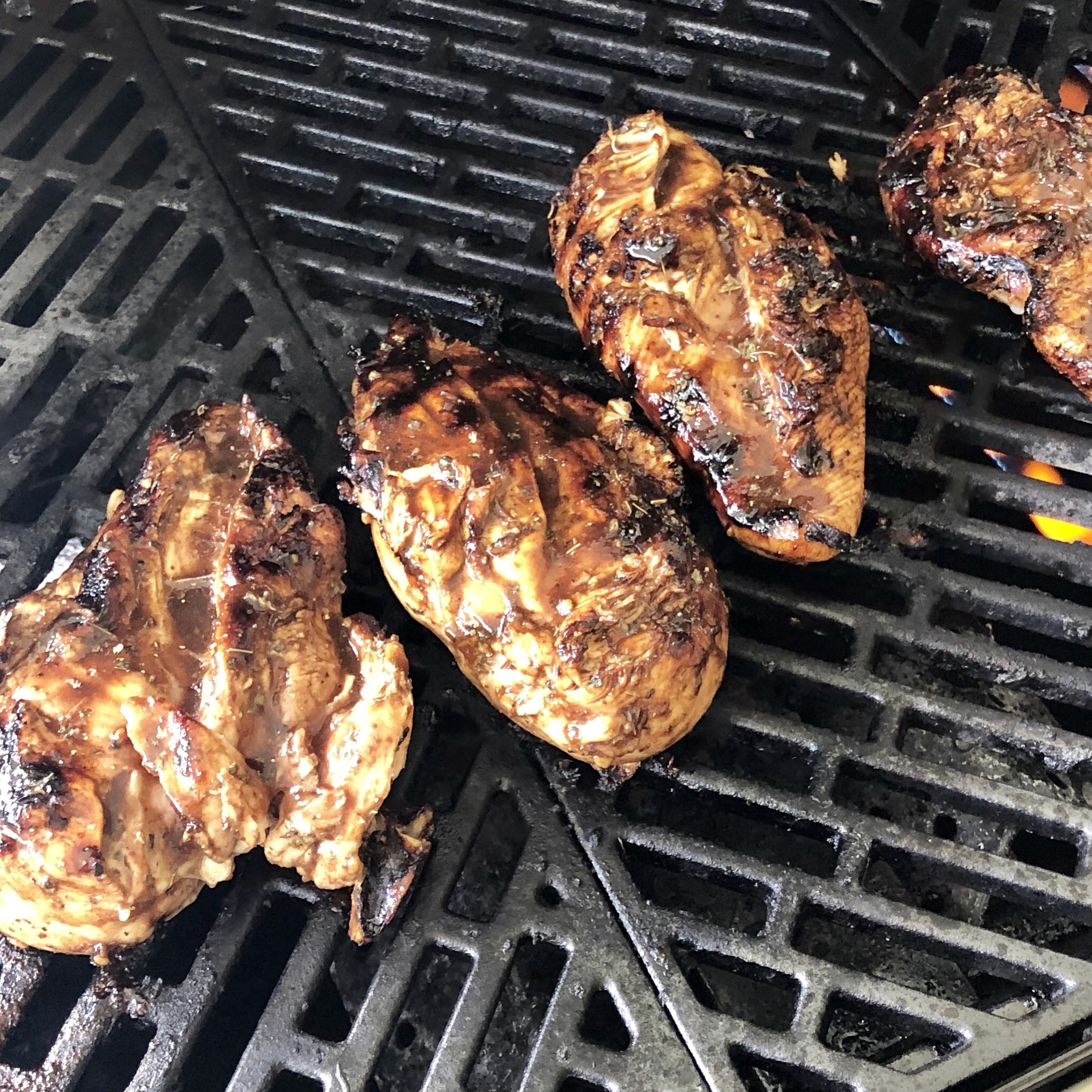 Grilled Balsamic Chicken Breast My Hot Southern Mess