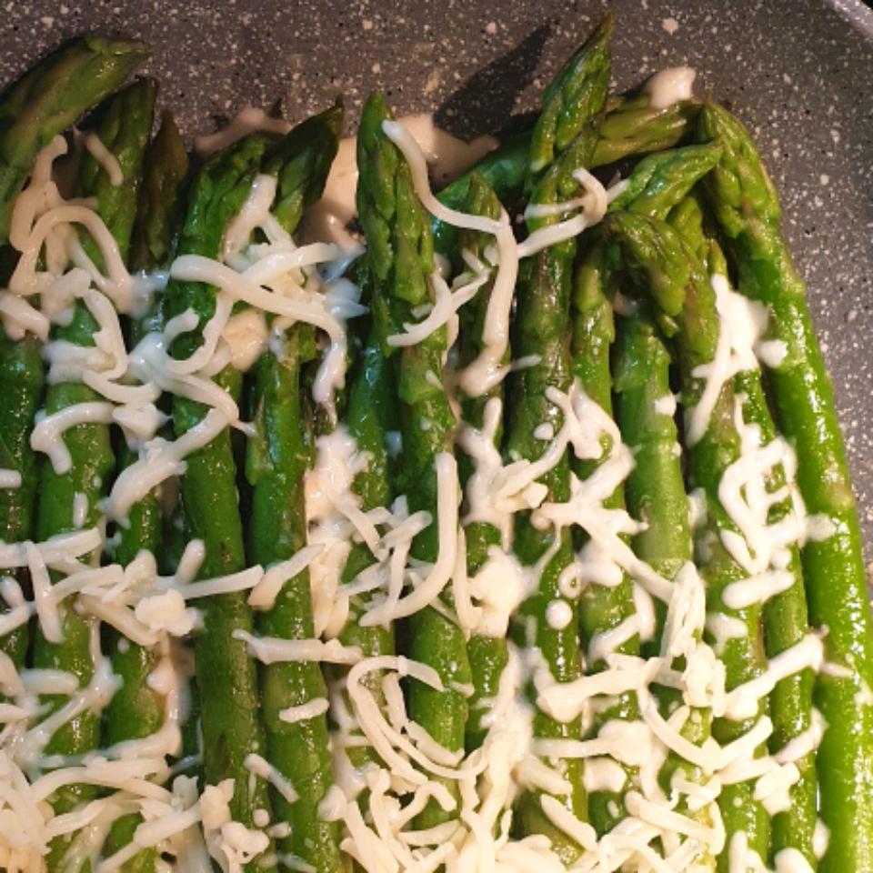 Broiled Asparagus Parmesan Sylvia Stoyanova
