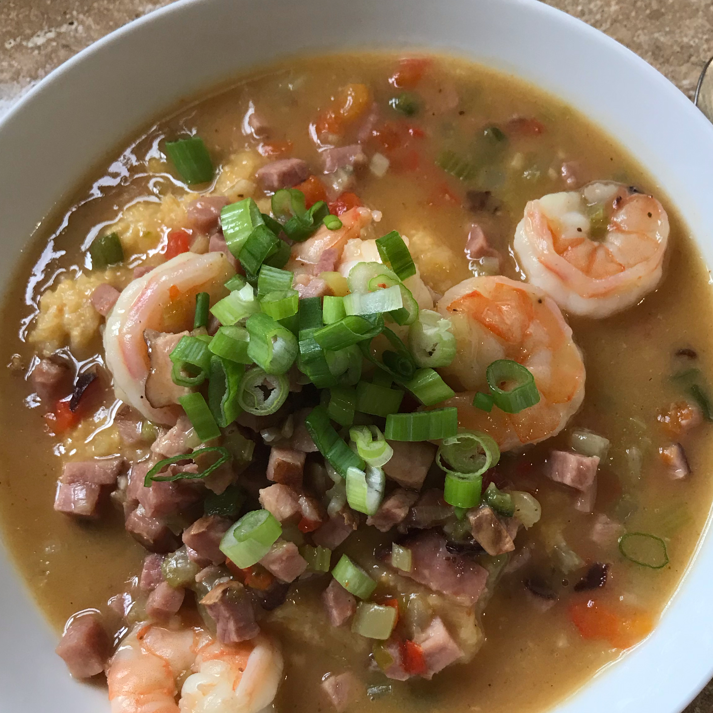 Ham and Shrimp Gravy