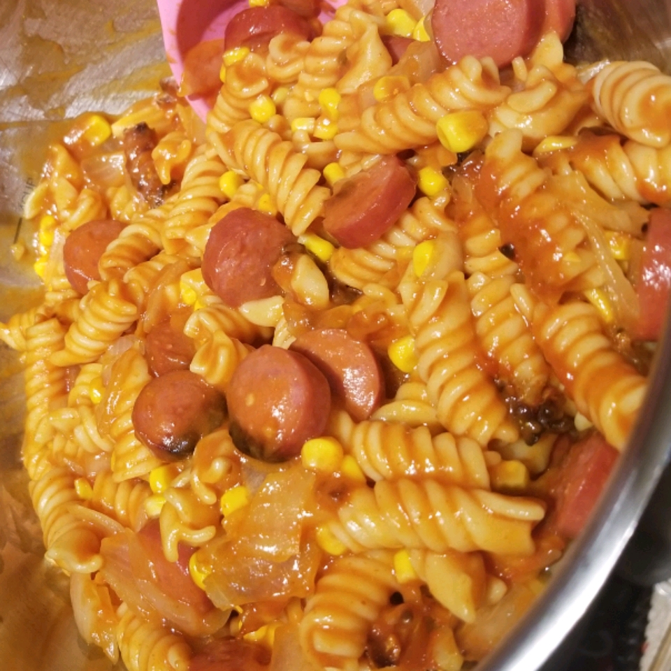 Momma's Hot Dog Casserole Cassy Gard
