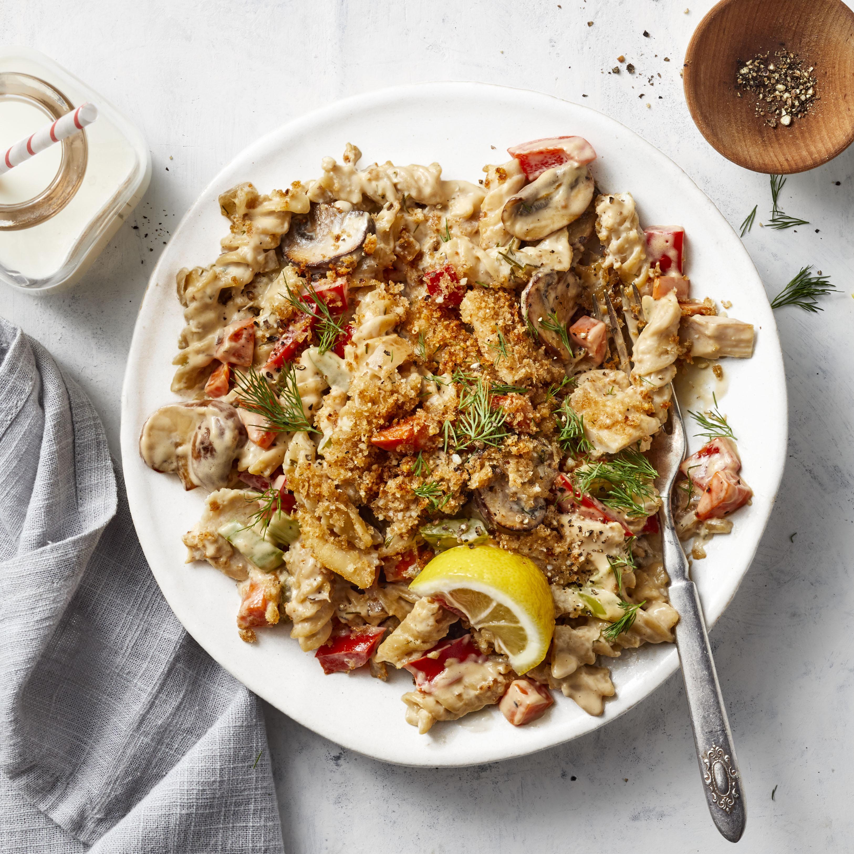 Healthier Tuna Noodle Casserole