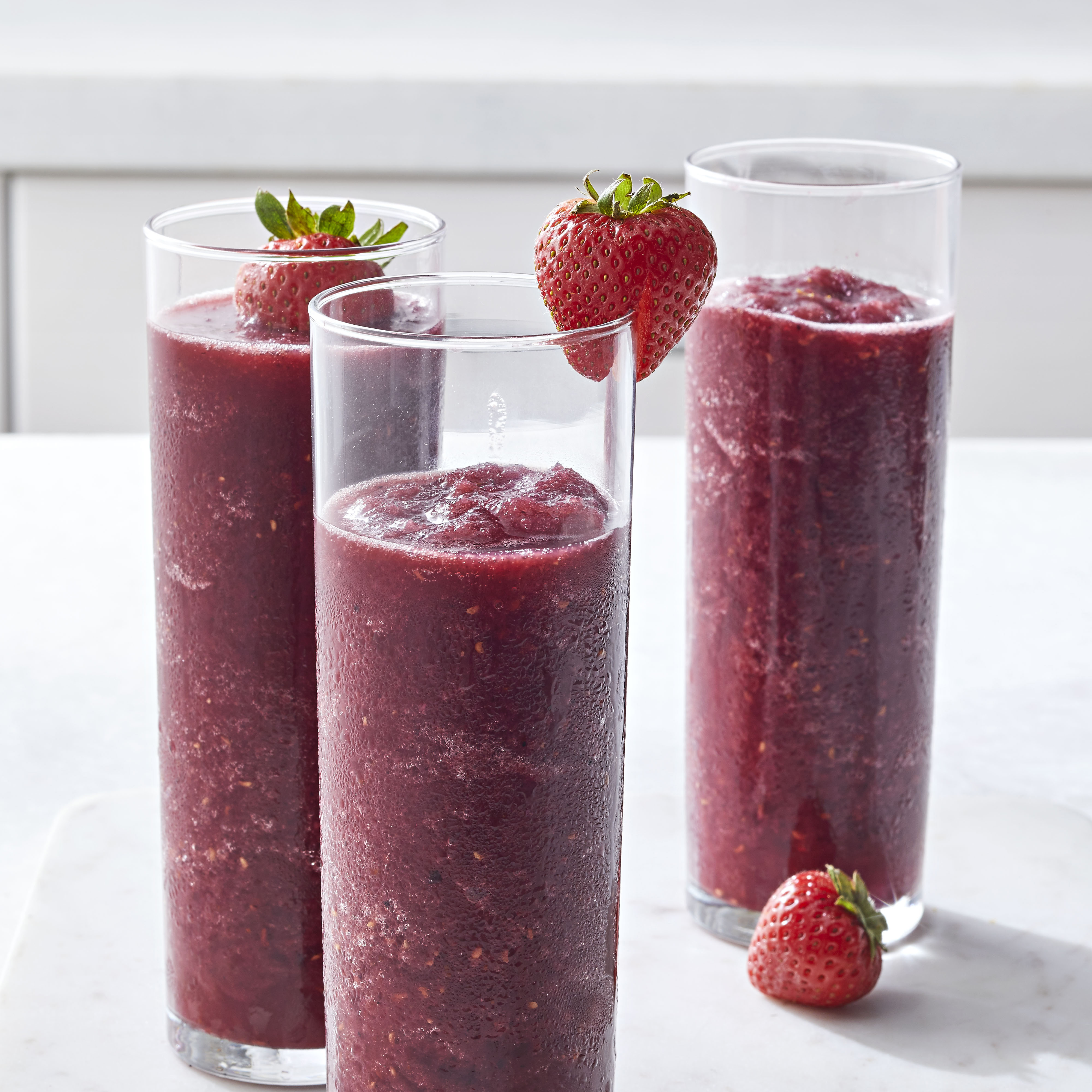 Berrylicious Frozen Sangria Slush Allrecipes Magazine