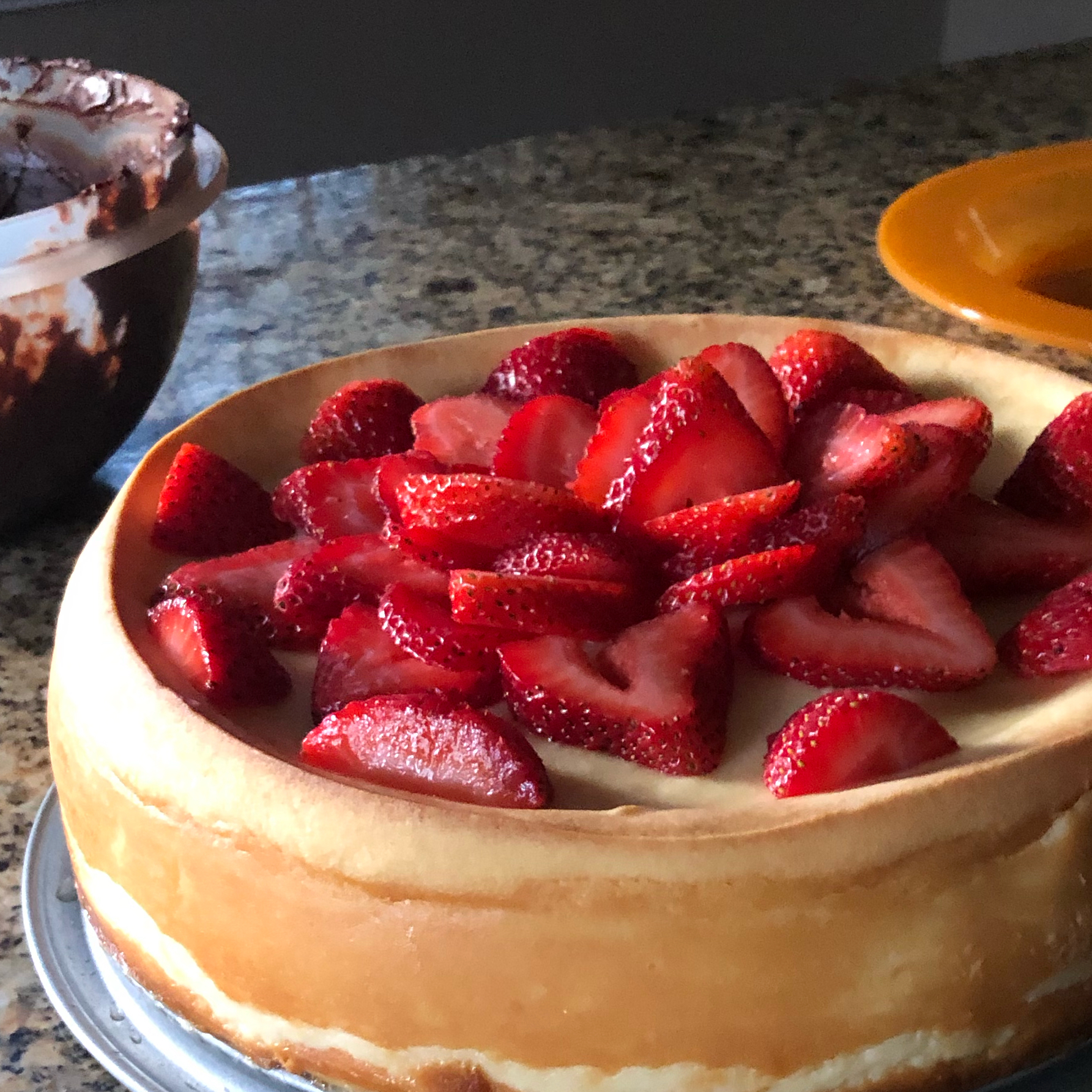 New York Italian Style Cheesecake Noah Christiansen