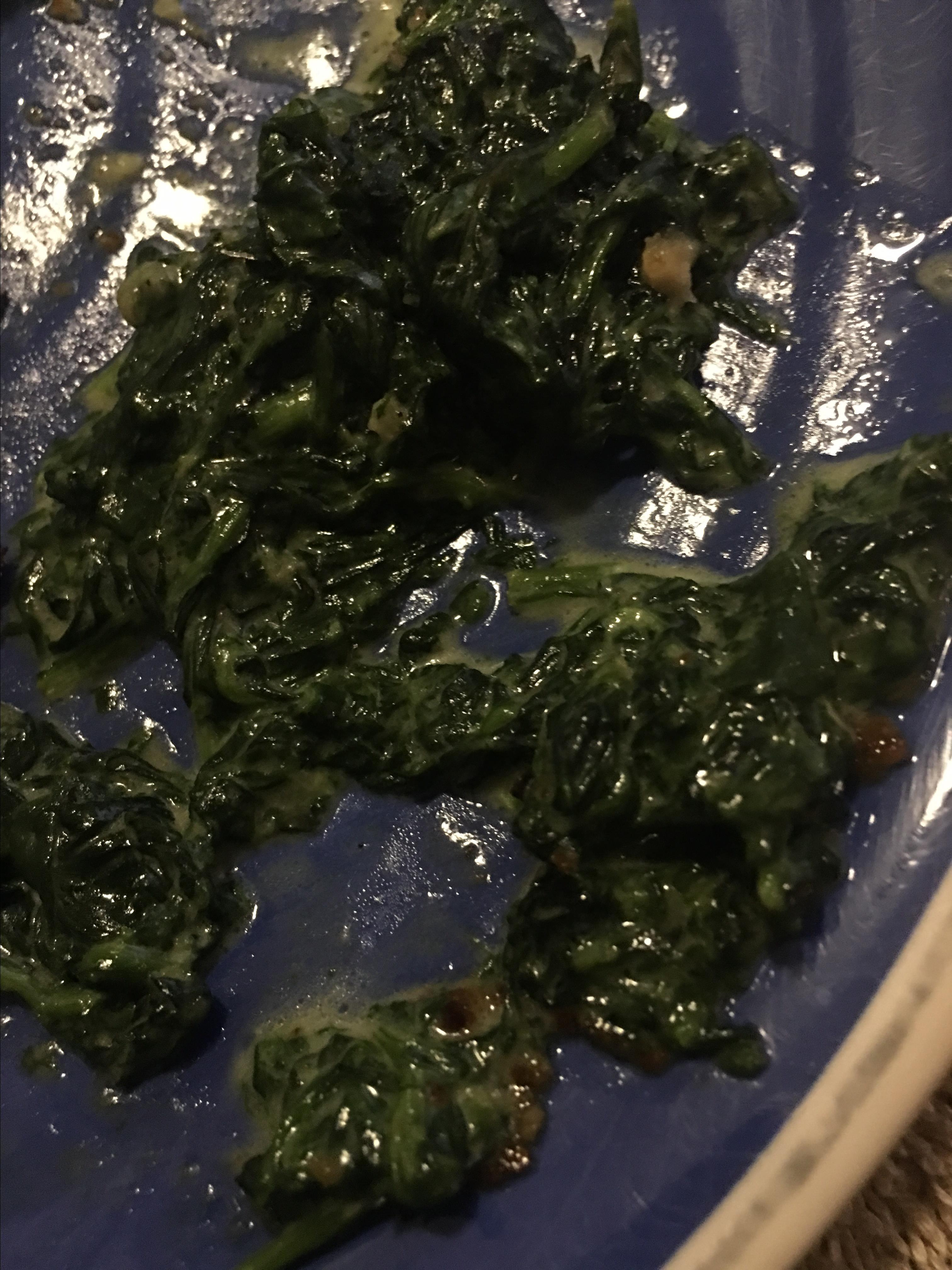 Fast and Easy Creamed Spinach Jeni Michelson