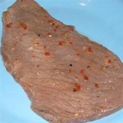 Citrus-Ginger Flat Iron Steak bjalg