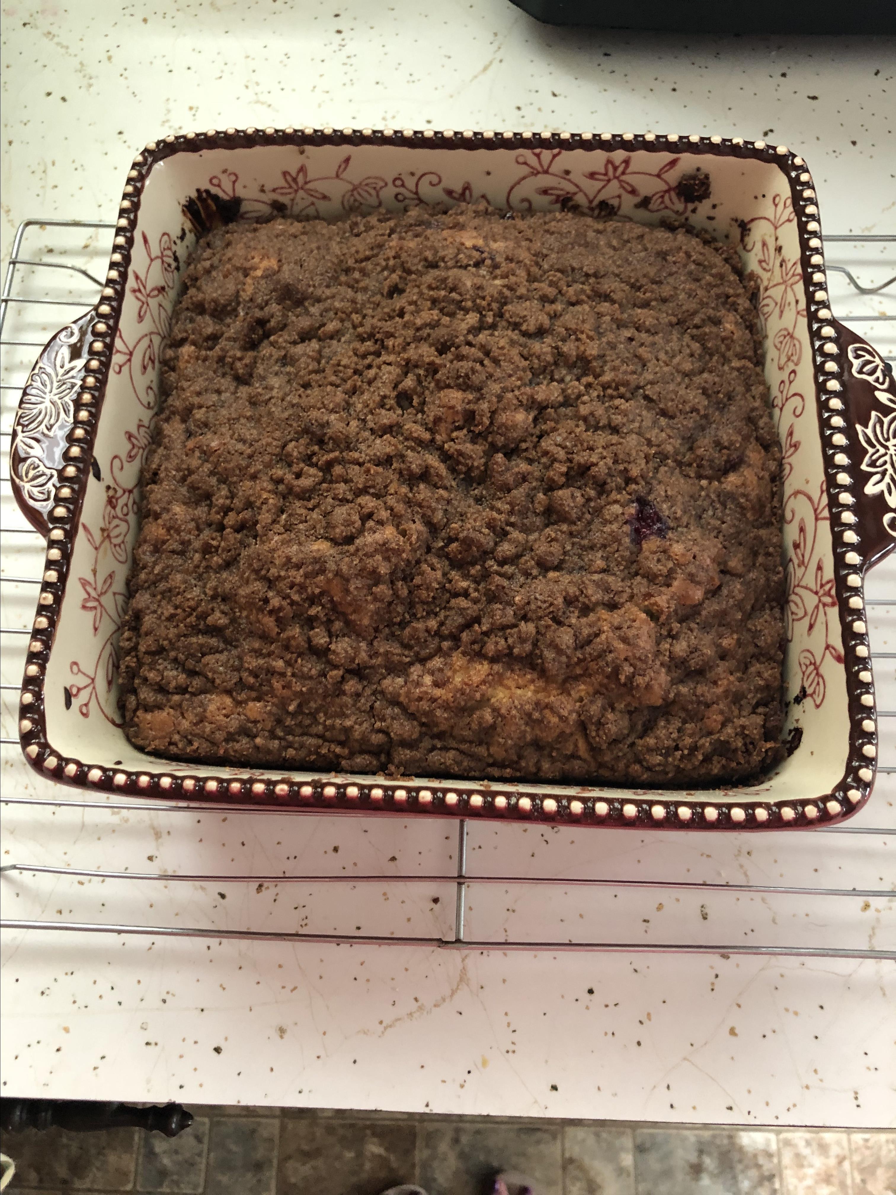 Blueberry Muffin Cake Christine F.