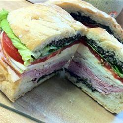 Joanne's Super Hero Sandwich eecaule