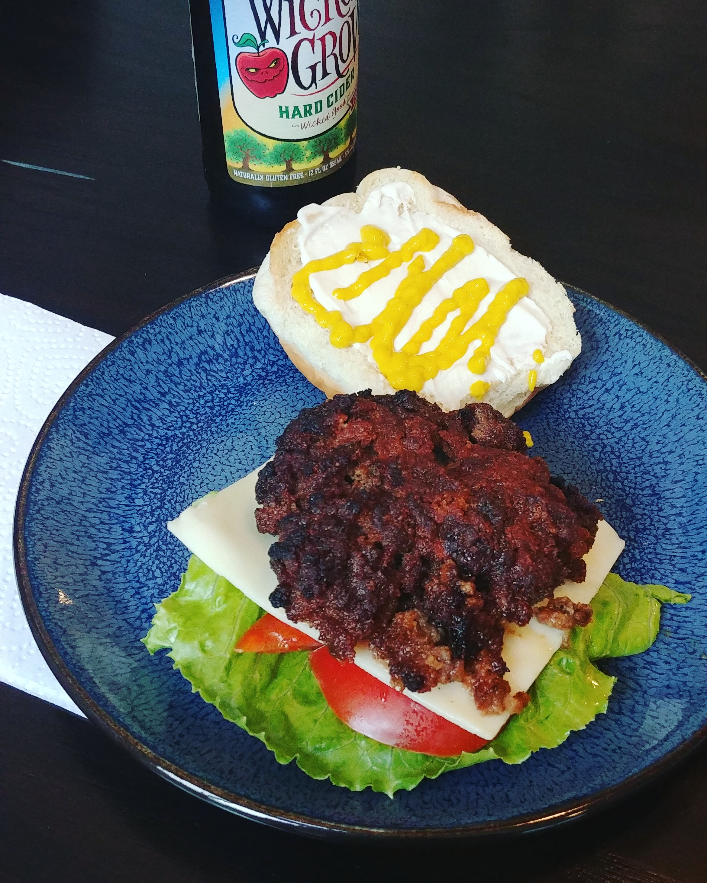 My Husband's Favorite Baked Burgers