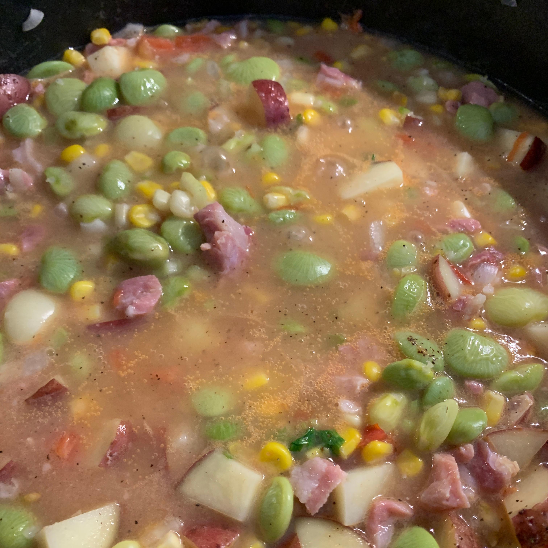 Lima Beans and Ham Tammy LeDuc Maynard